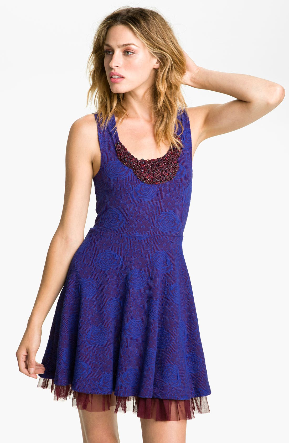 Main Image - Free People 'Rock Princess' Embellished Dress