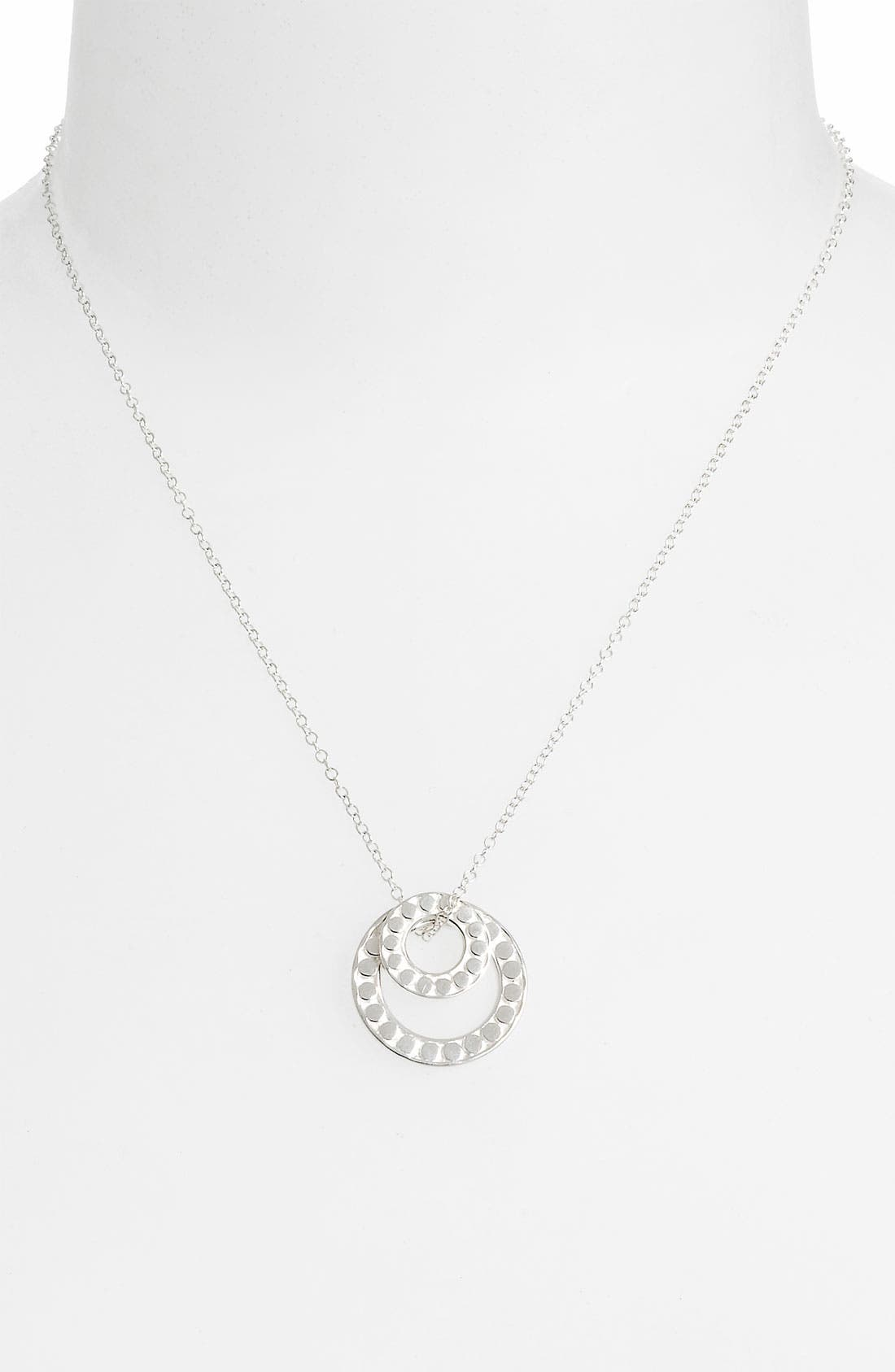 Alternate Image 1 Selected - Anna Beck 'Floating O' Double Circle Necklace (Online Only)