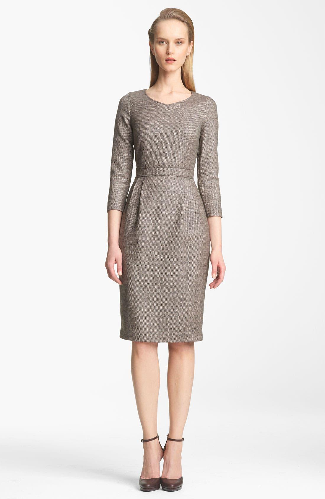 Alternate Image 1 Selected - Armani Collezioni Check Dress