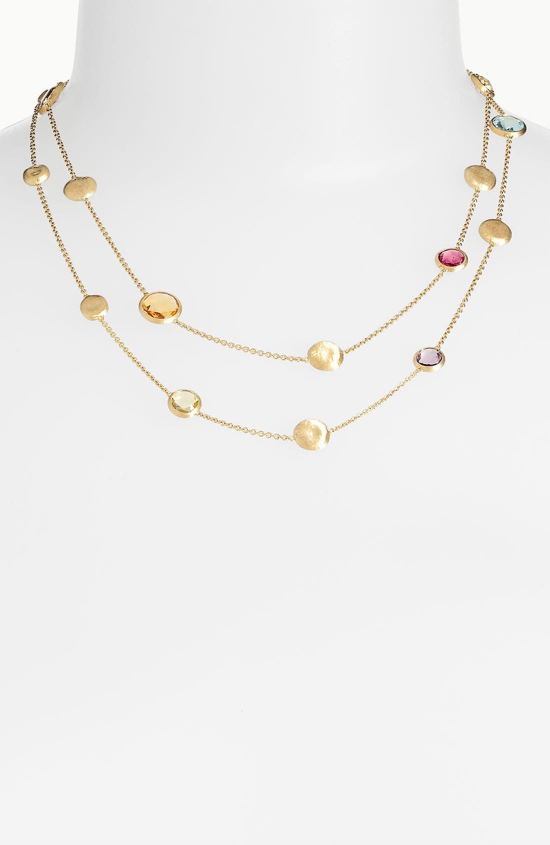 Alternate Image 1 Selected - Marco Bicego 'Jaipur' Semiprecious Stone Long Necklace