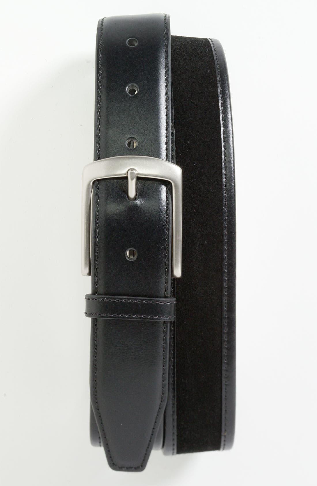Alternate Image 1 Selected - Trafalgar 'Woodbury' Belt
