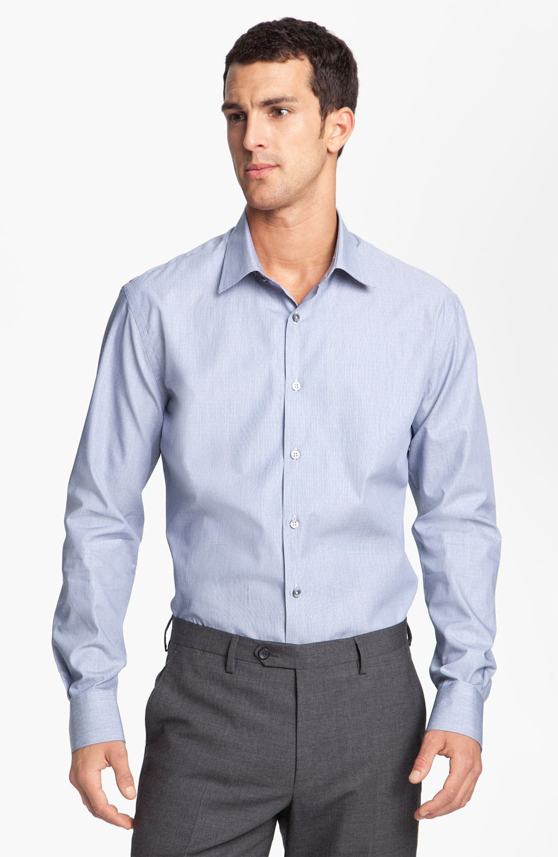 Alternate Image 1 Selected - Paul Smith London Microdot Dress Shirt