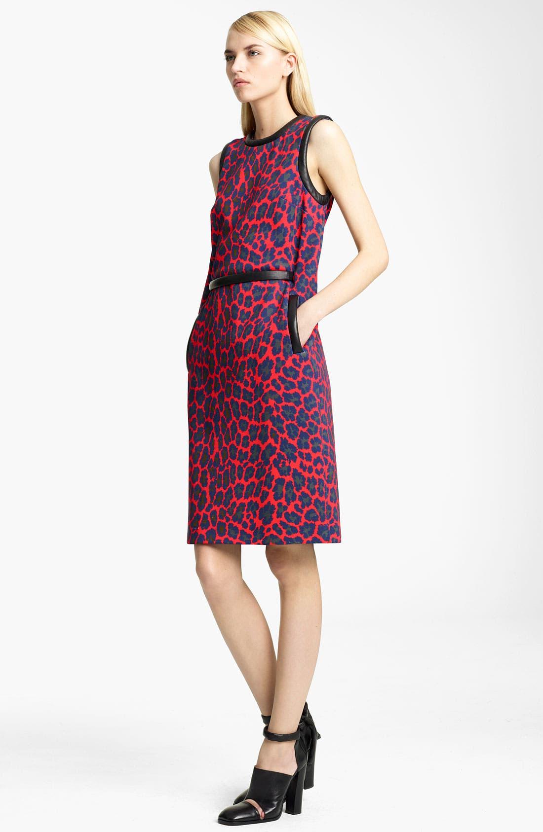 Alternate Image 1 Selected - Christopher Kane Leopard Print Shift Dress