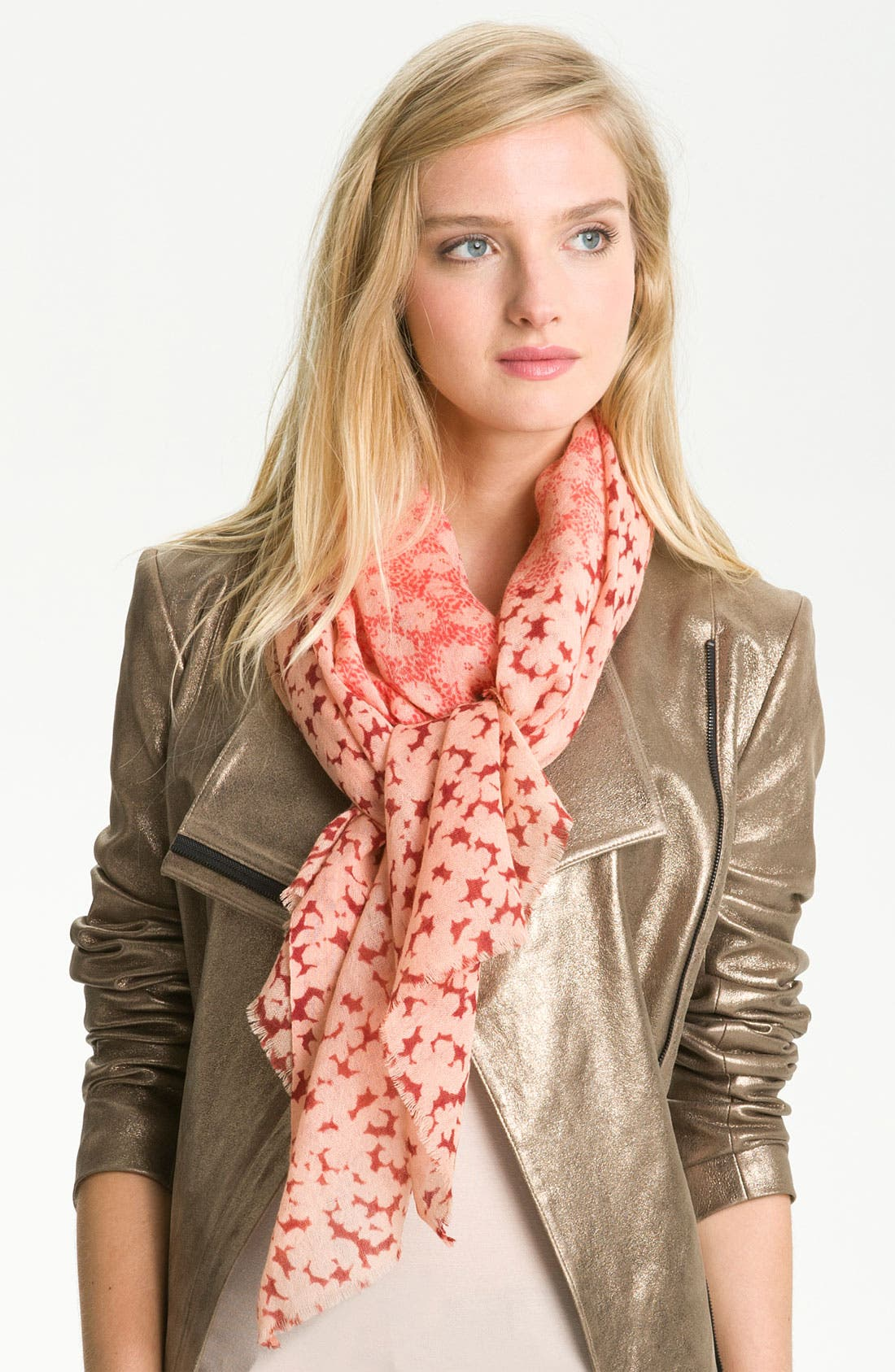 Alternate Image 1 Selected - Tory Burch 'Fairmont' Wool Scarf