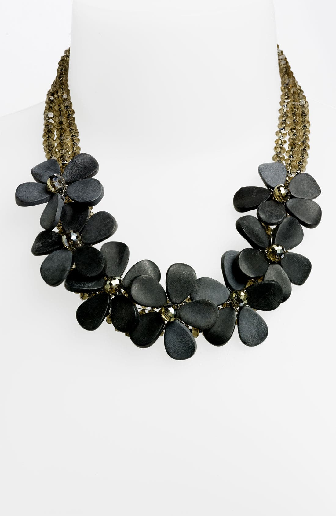 Alternate Image 1 Selected - Nakamol Design 7-Flower Stone Necklace