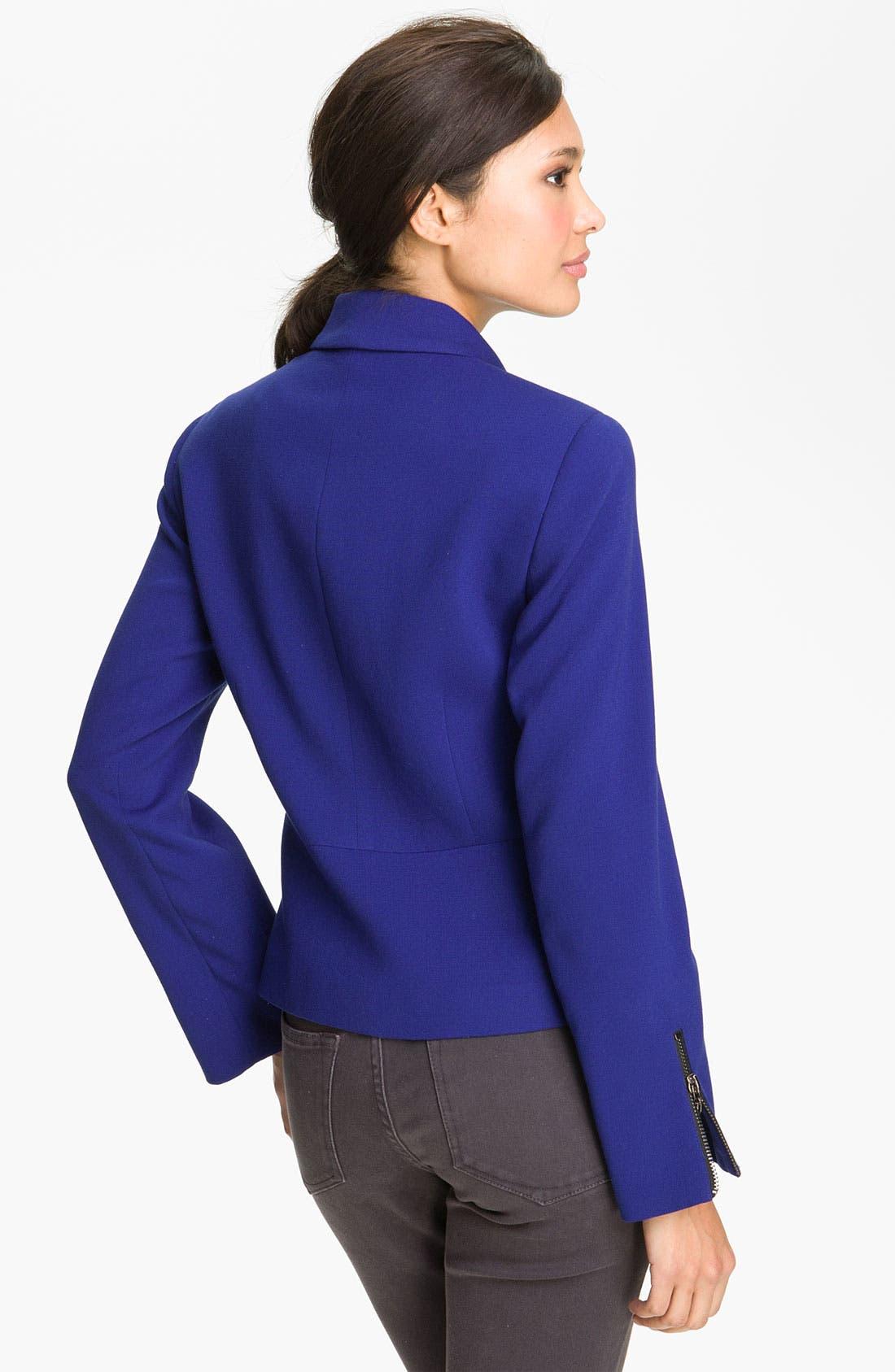 Alternate Image 2  - Conrad C Collection 'Lisbon' Zip Detail Jacket