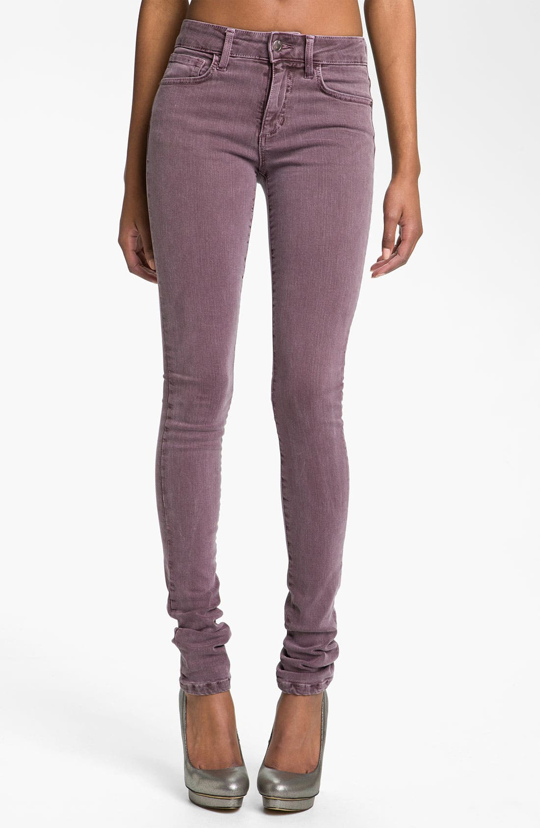 Main Image - Joe's Skinny Stretch Denim Jeans (Port)