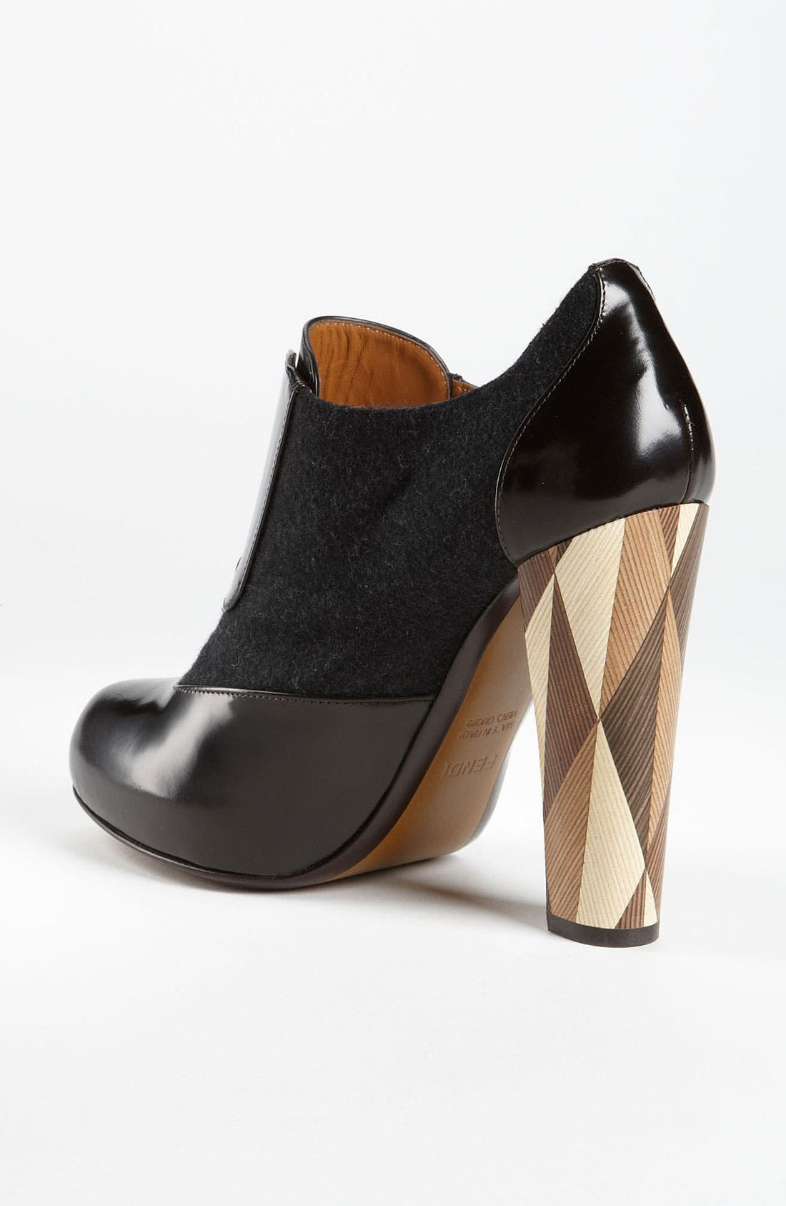 Alternate Image 2  - Fendi 'Wuthering Heights' Wood Heel Bootie