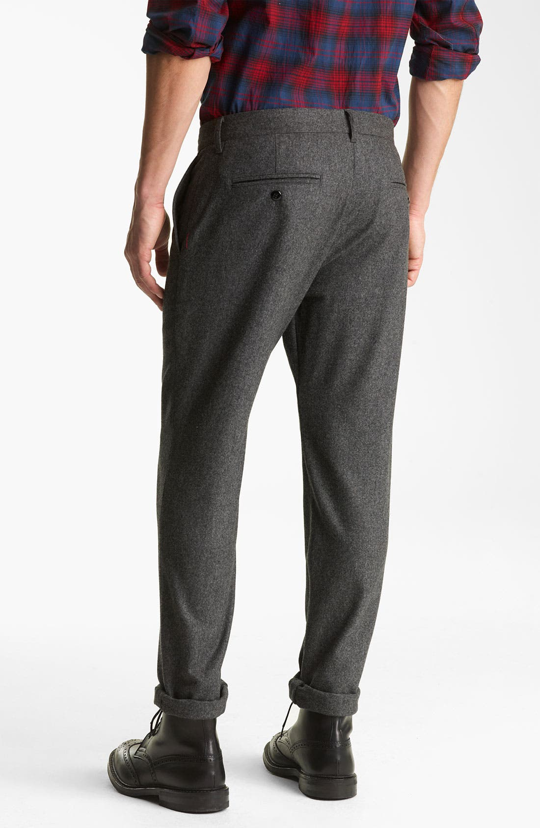 Alternate Image 2  - Todd Snyder Wool Trousers