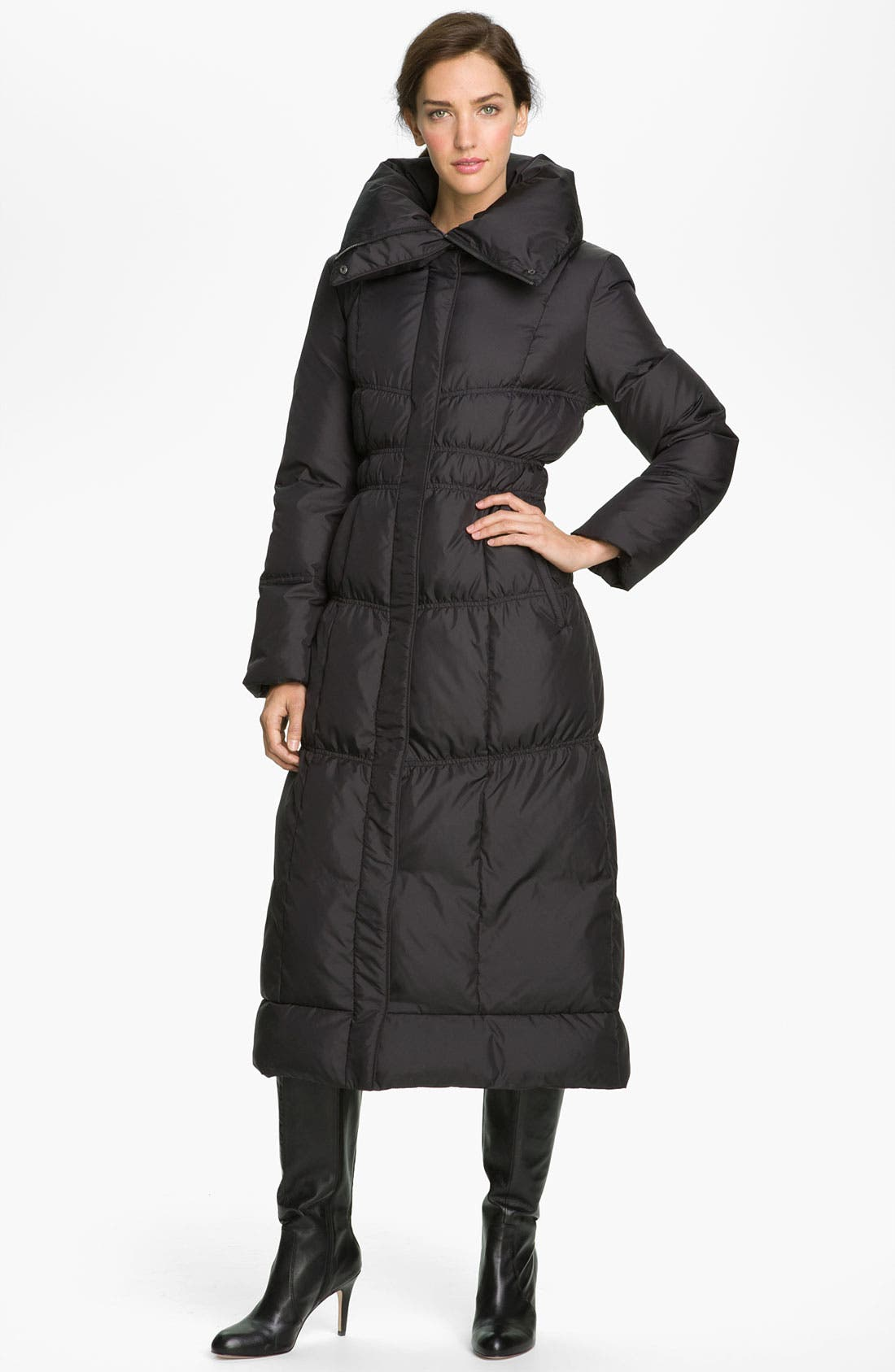 Alternate Image 1 Selected - Cole Haan Long Down Coat