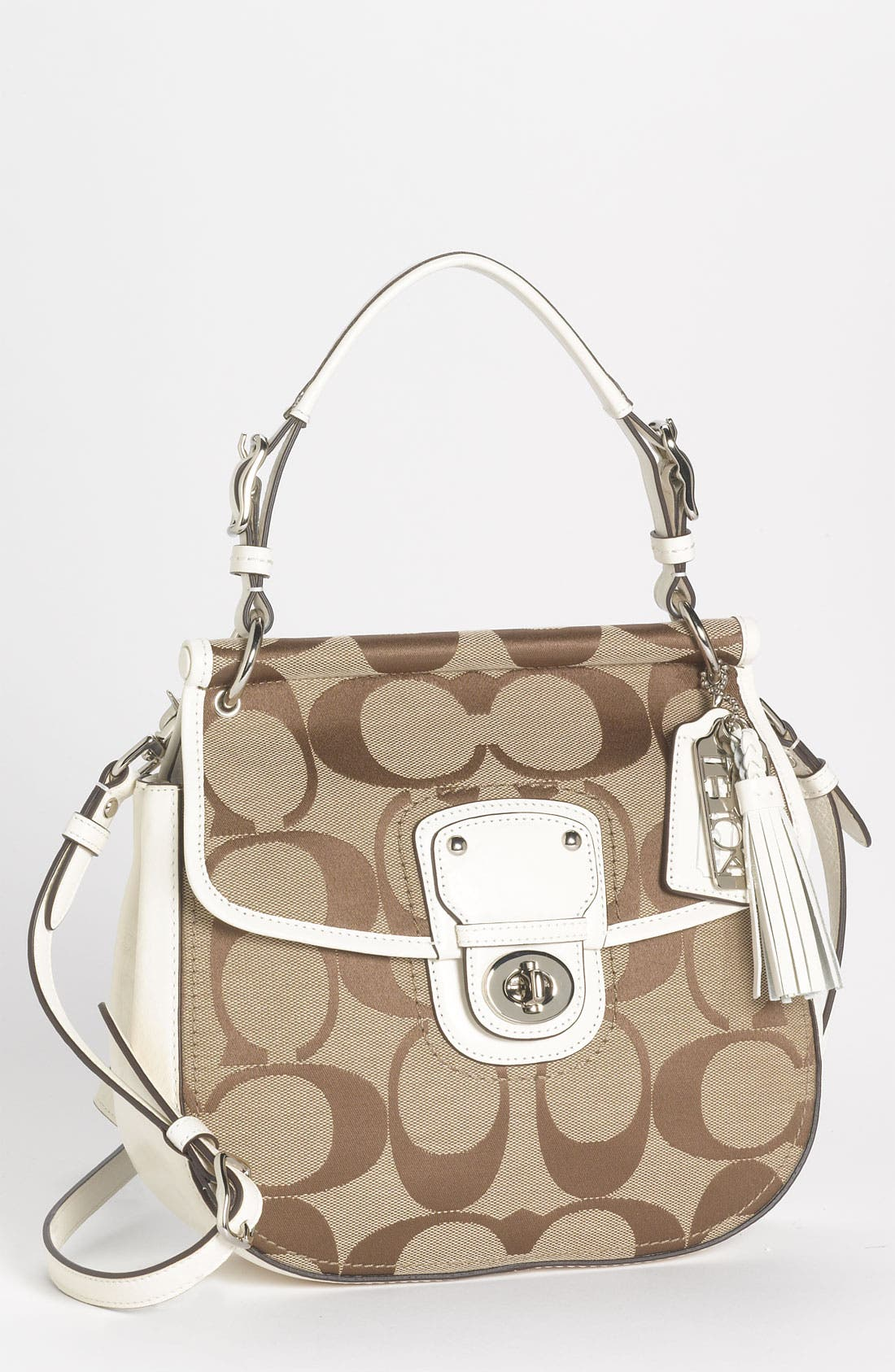 Main Image - COACH 'Poppy Signature - New Willis' Hobo