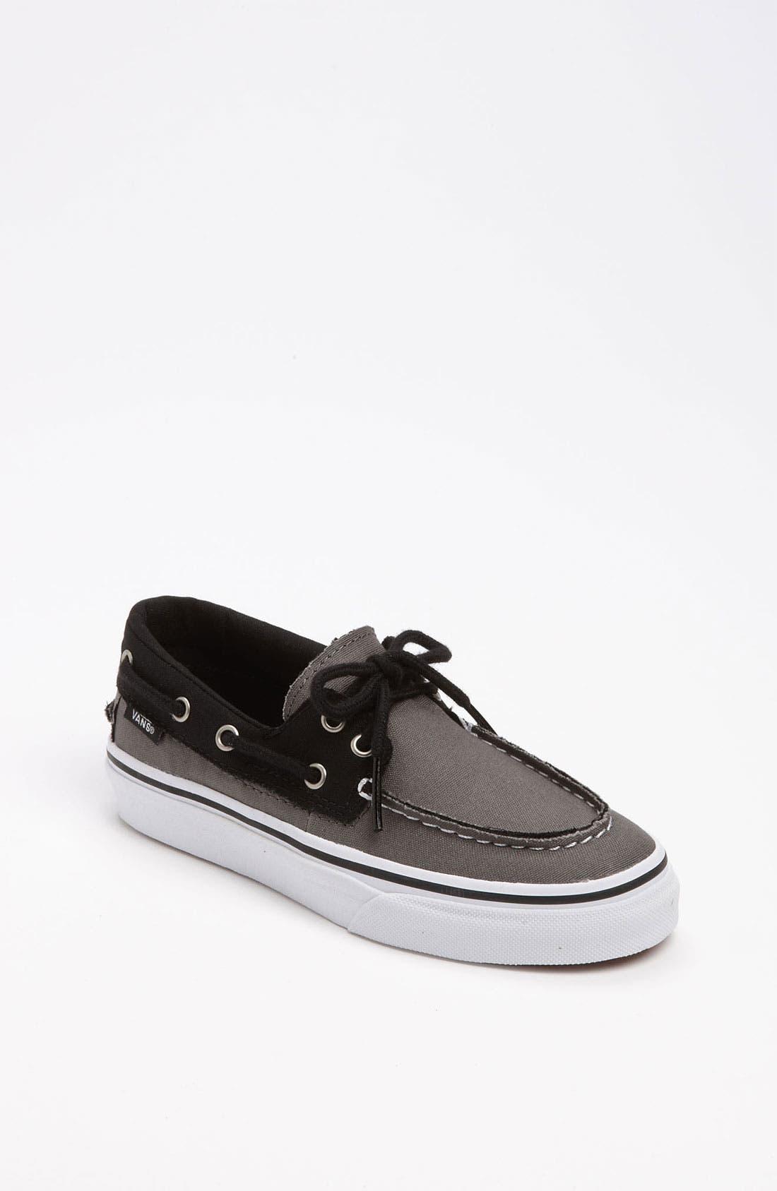 Main Image - Vans 'Zapato del Barco' Boat Shoe (Baby, Walker, Toddler, Little Kid & Big Kid)