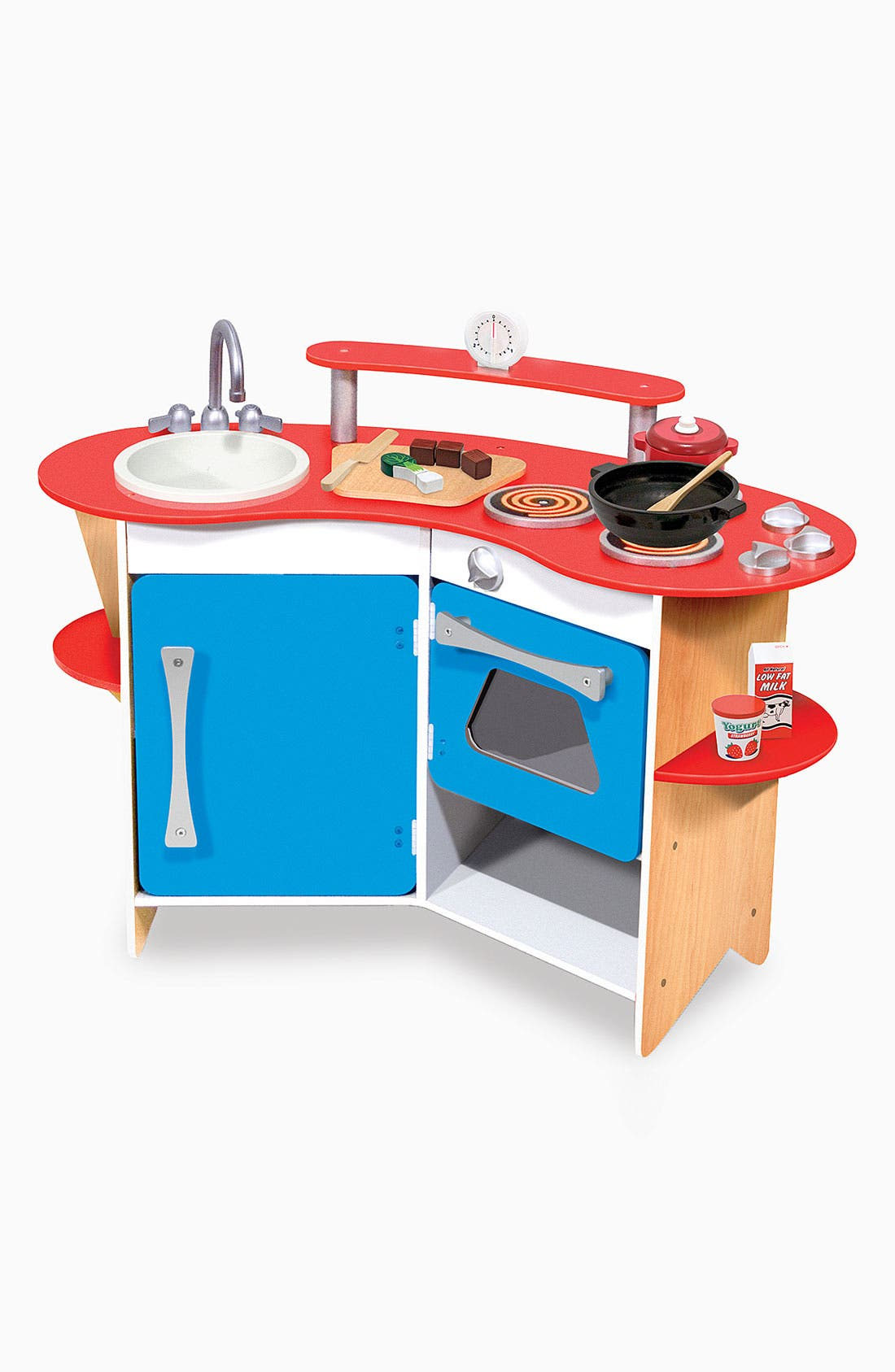 Alternate Image 2  - Melissa & Doug 'Cook's Corner' Wooden Play Kitchen