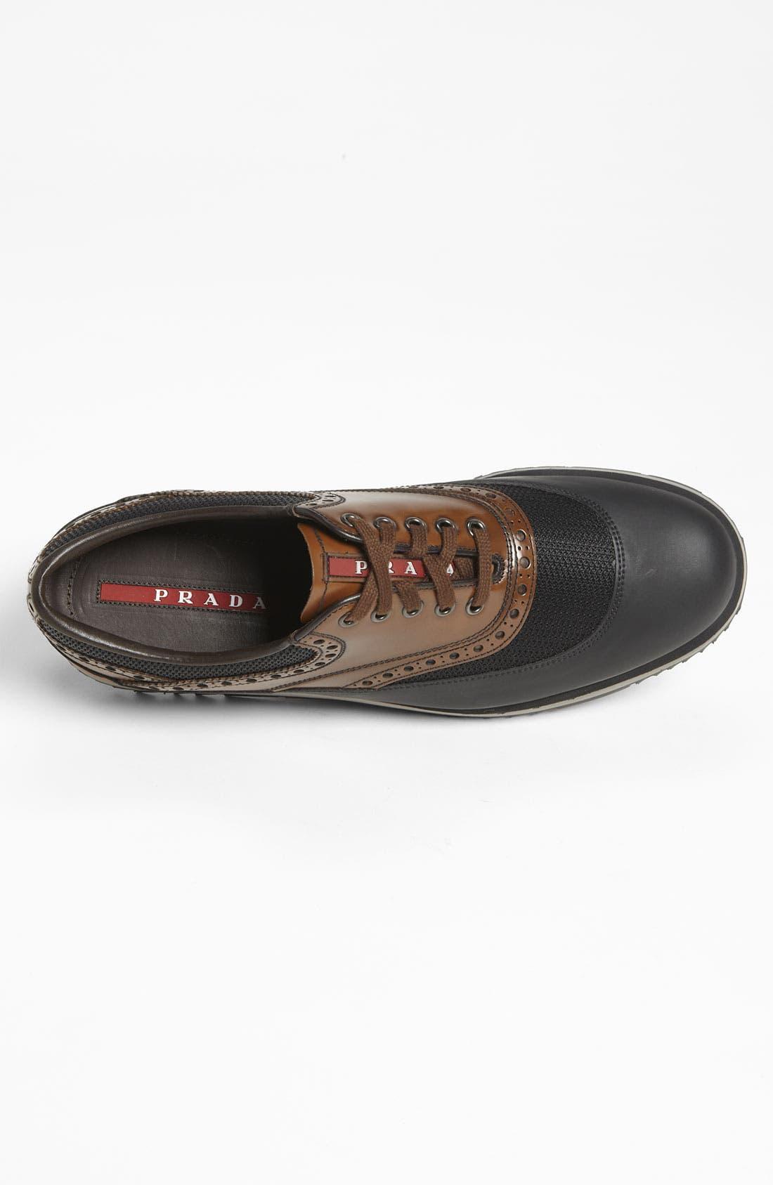 Alternate Image 3  - Prada Double Sole Brogue Sneaker