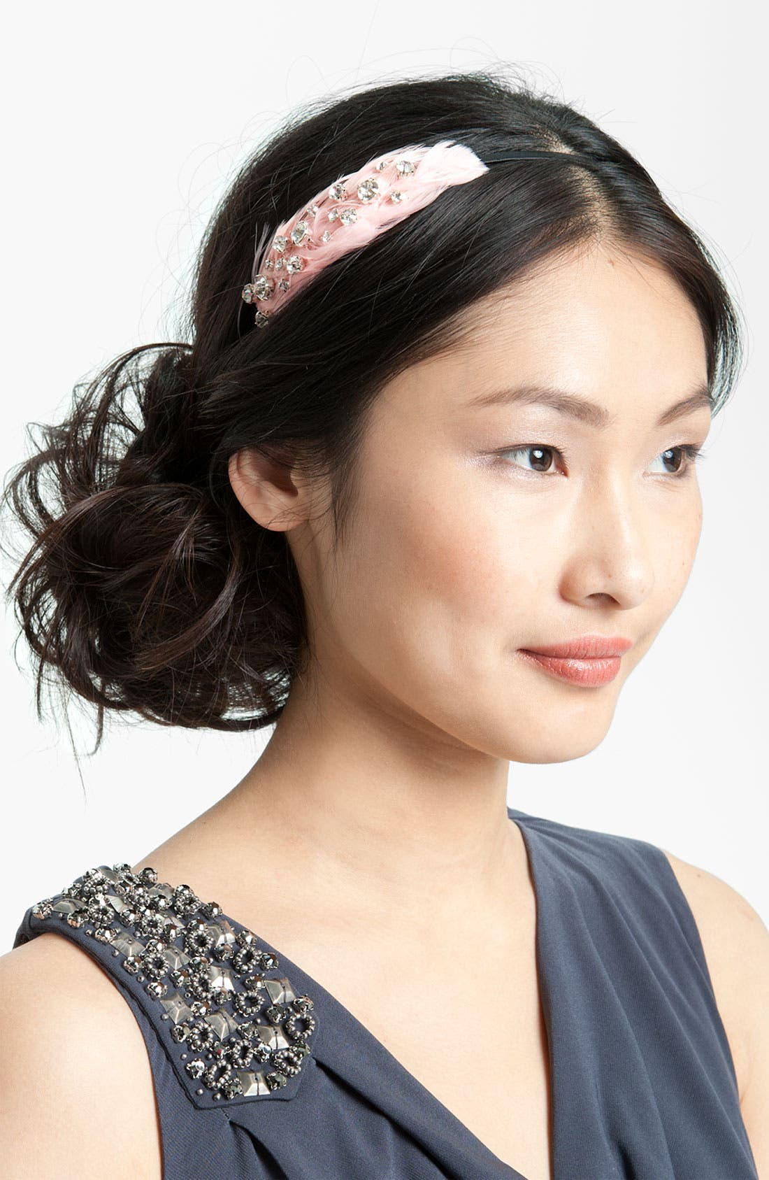 Main Image - Tasha 'Floating Crystal Feather' Headband