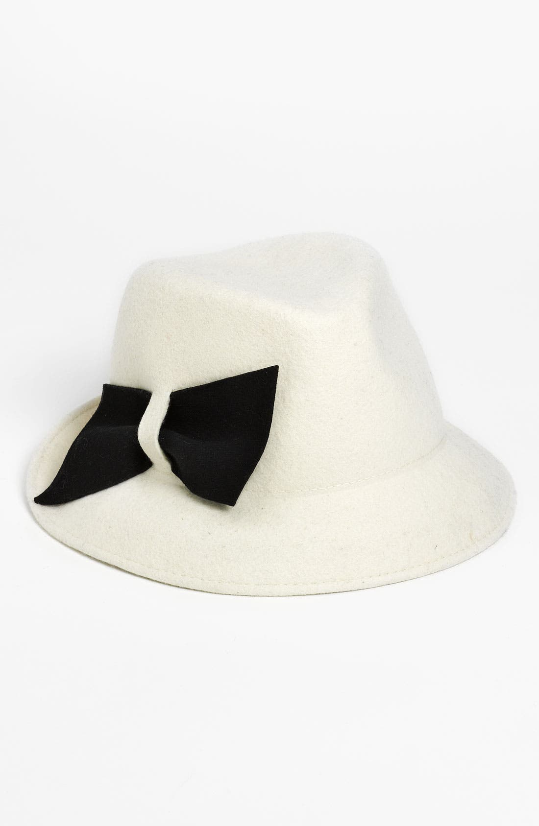 Alternate Image 1 Selected - Halogen® Contrast Bow Fedora
