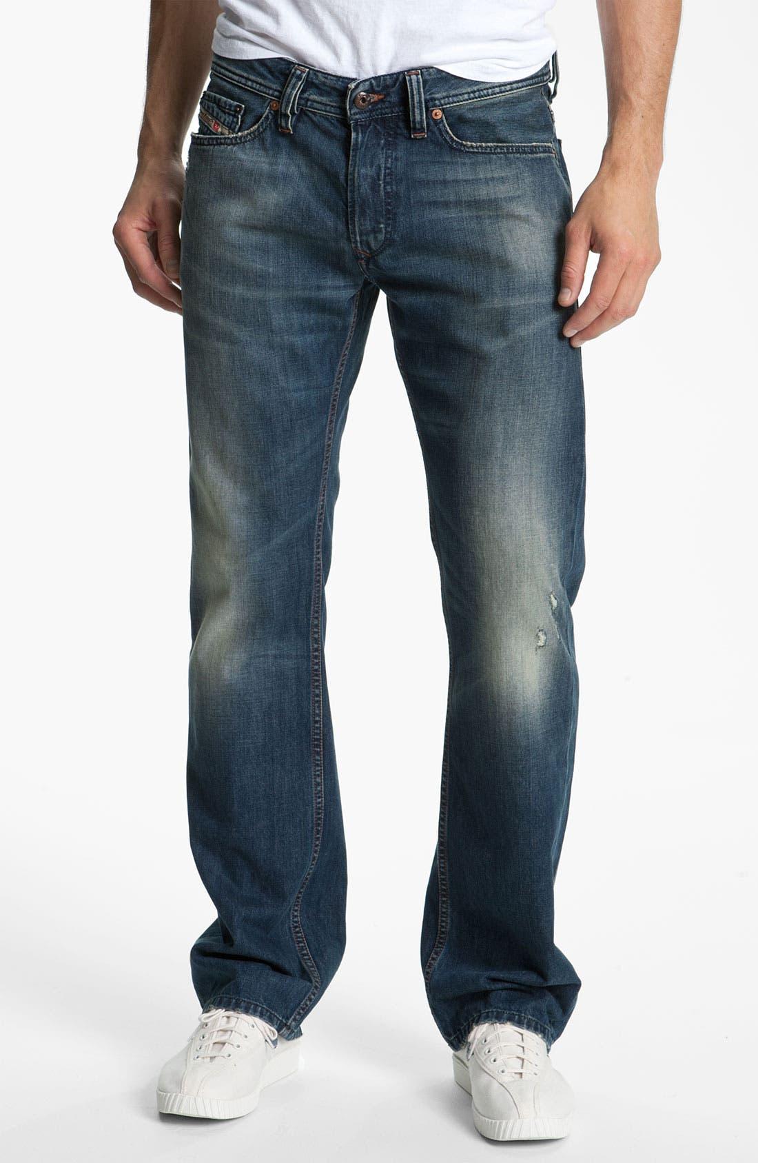 Alternate Image 2  - DIESEL® 'Viker' Straight Leg Jeans (0803F)