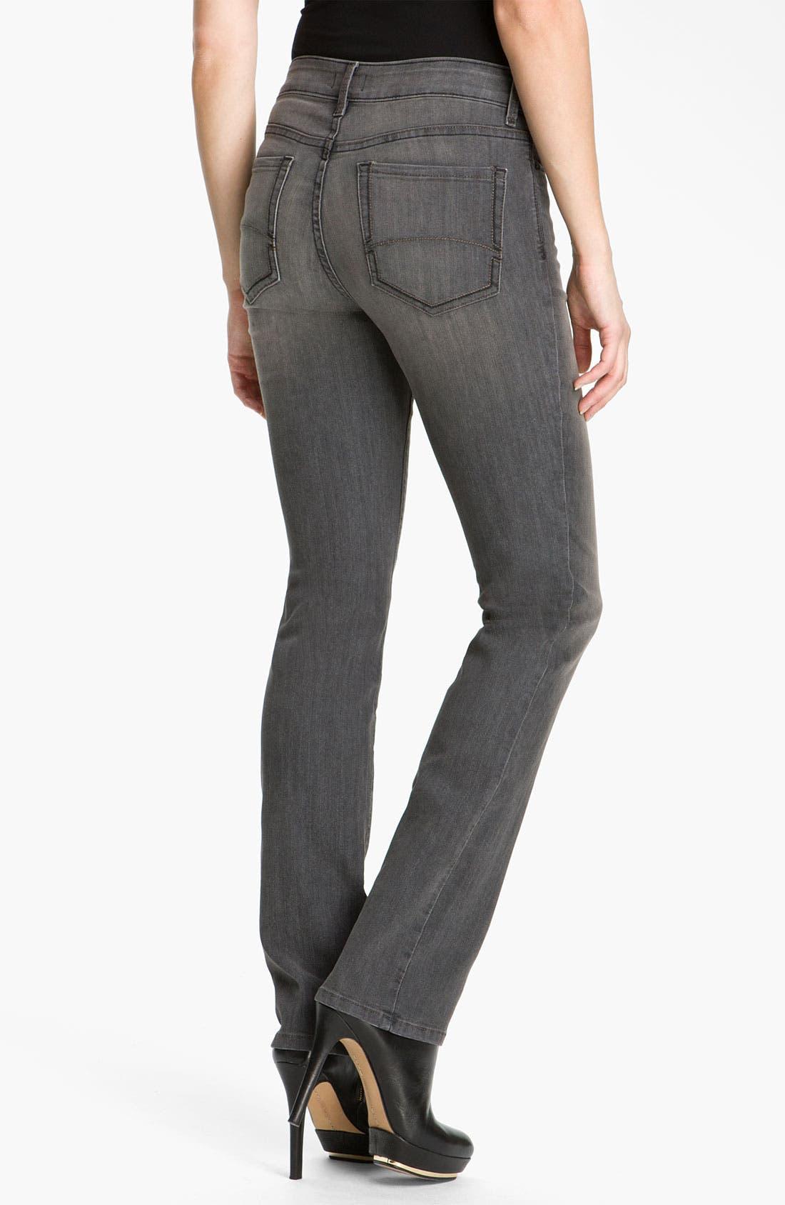 Alternate Image 2  - NYDJ 'Marilyn' Straight Leg Stretch Jeans