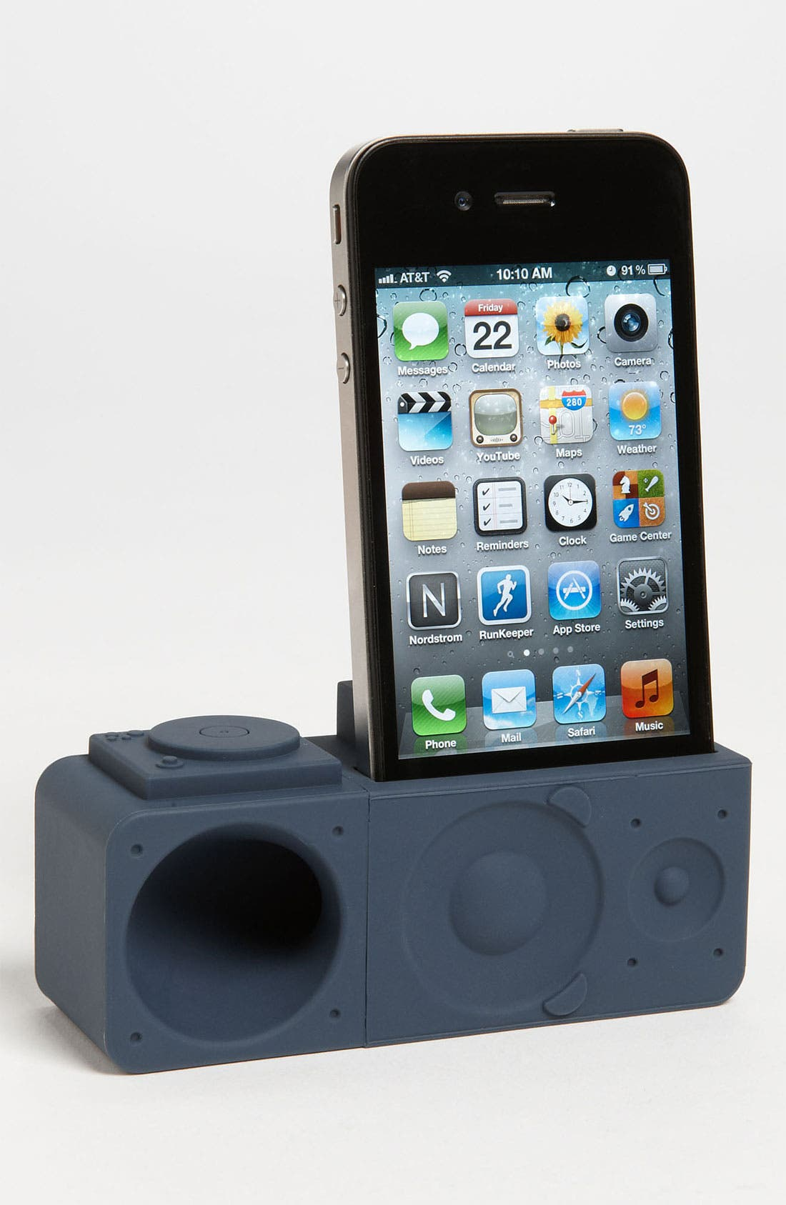 Alternate Image 1 Selected - Ozaki 'iCarry time 2boom' iPhone 4 & 4s Stand & Amp