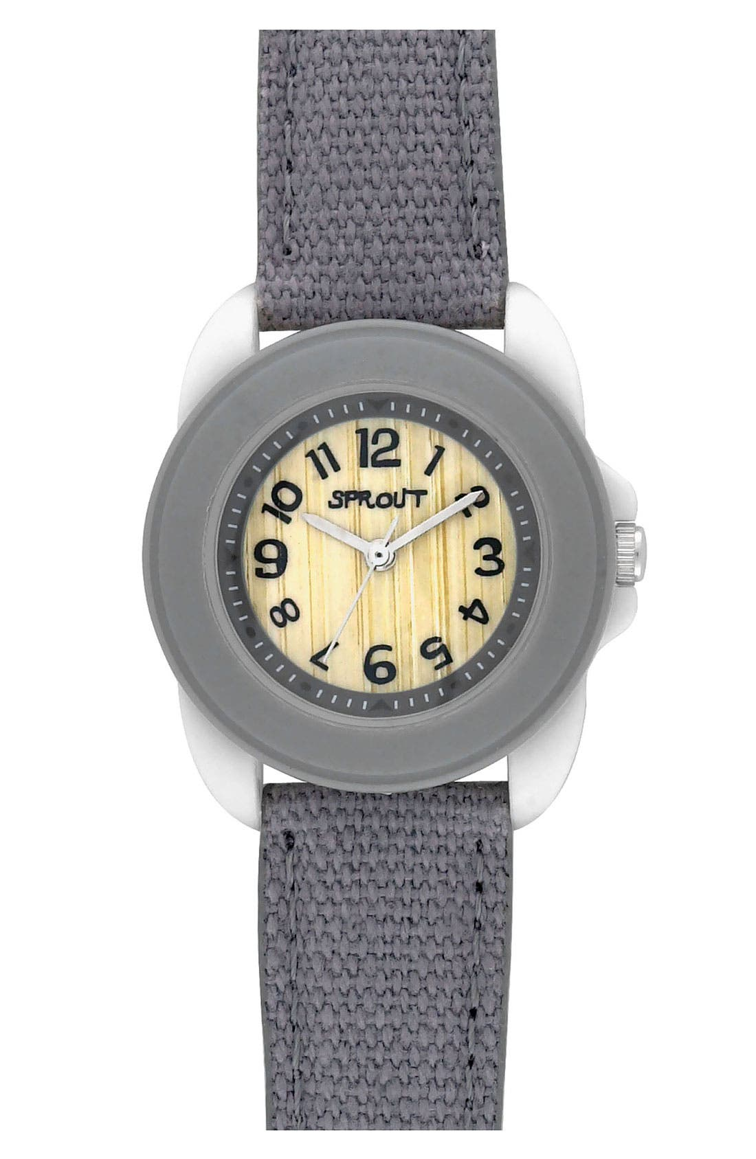 Main Image - SPROUT™ Watches Organic Cotton Strap Watch, 30mm