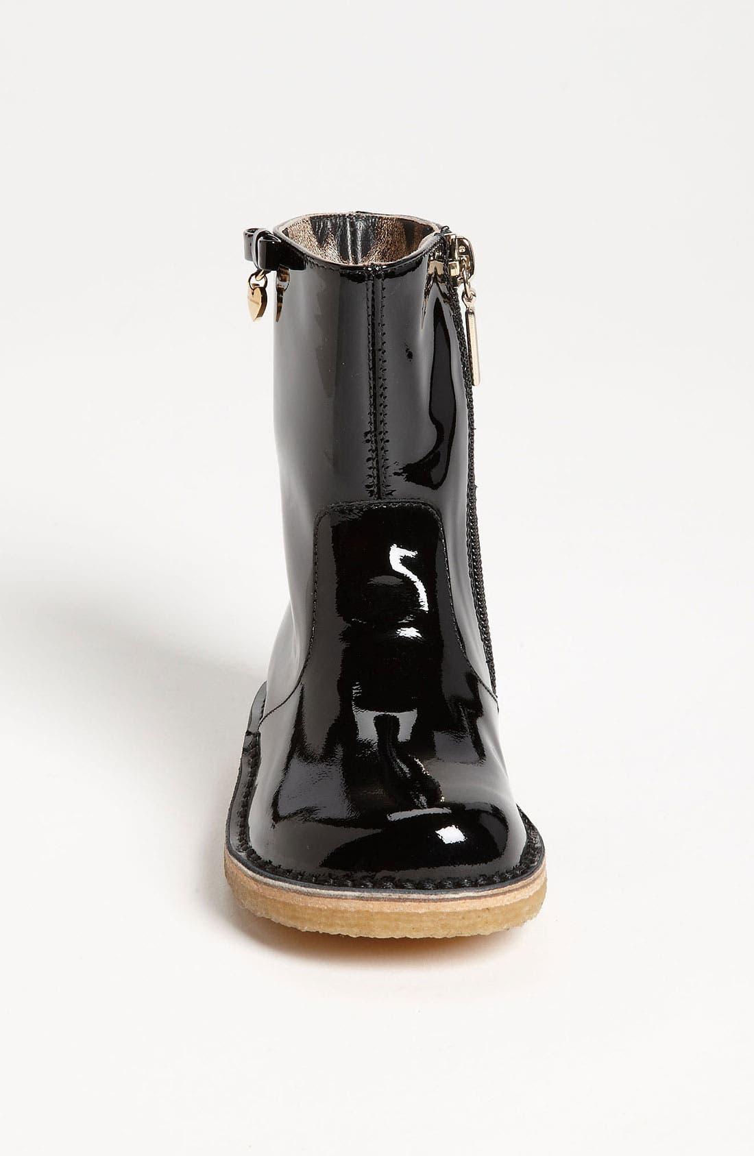Alternate Image 3  - Dolce&Gabbana Patent Boot (Walker & Toddler)