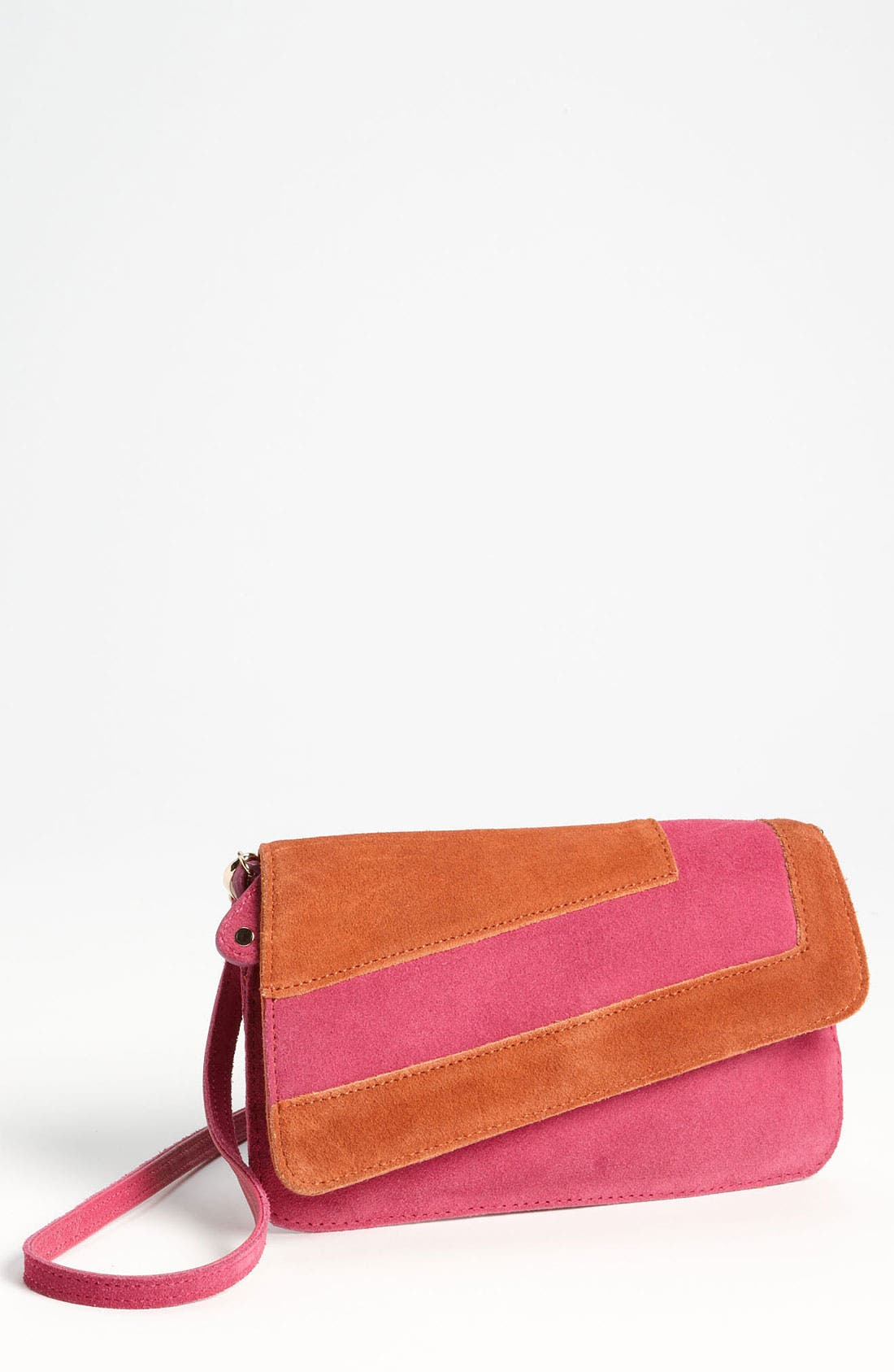 Alternate Image 1 Selected - Danielle Nicole 'Madison' Suede Crossbody Bag