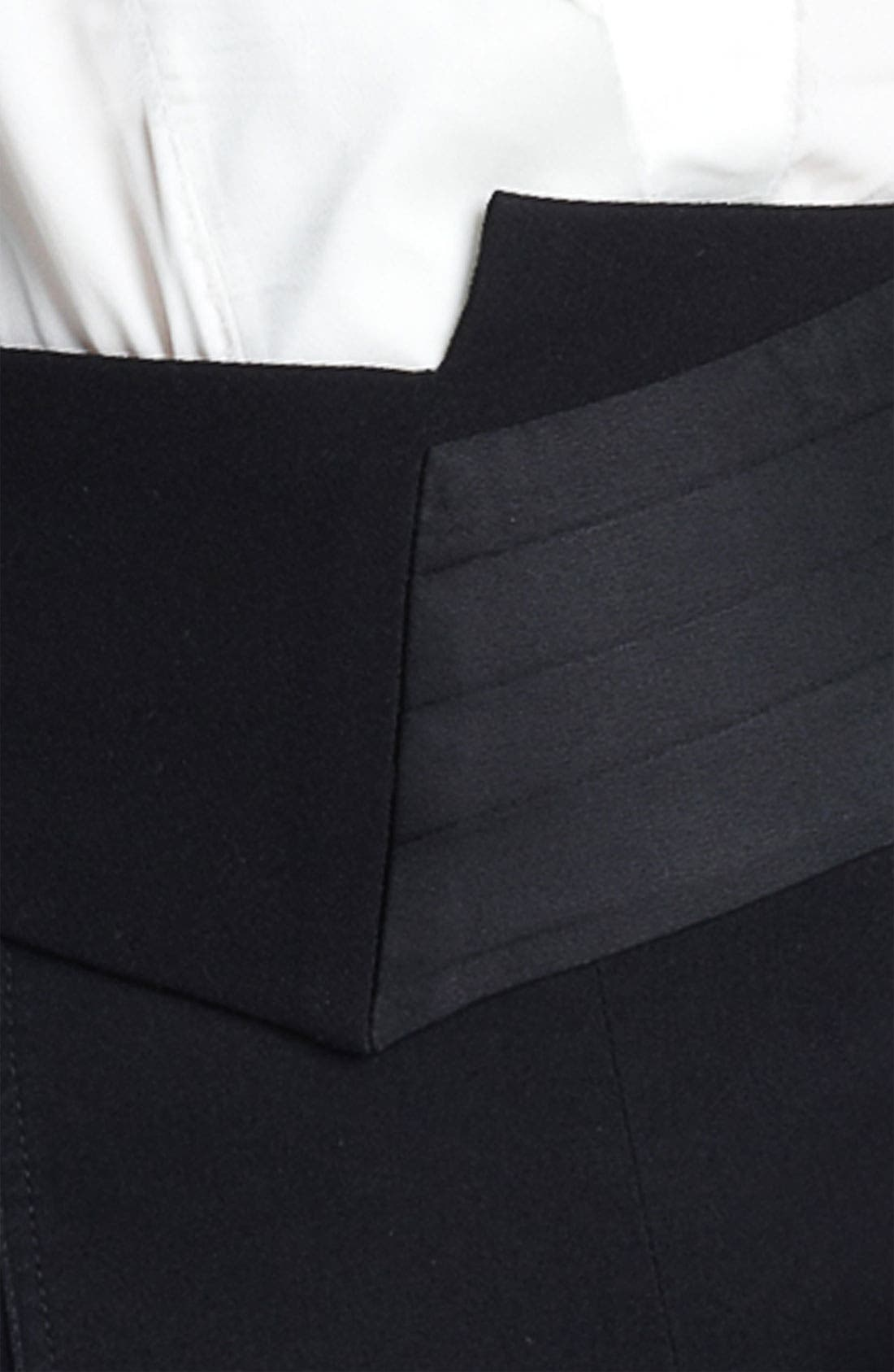 Alternate Image 2  - Donna Karan Collection Spliced Cummerbund