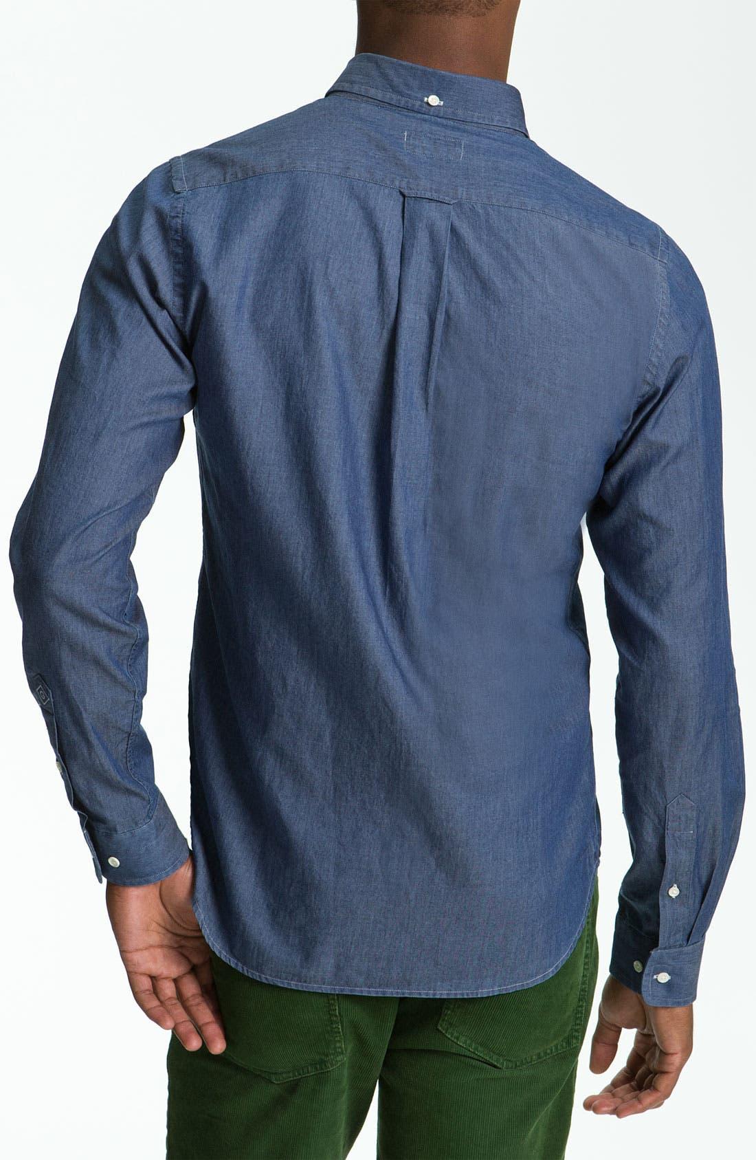 Alternate Image 2  - Gant Rugger 'Luxury' Woven Shirt