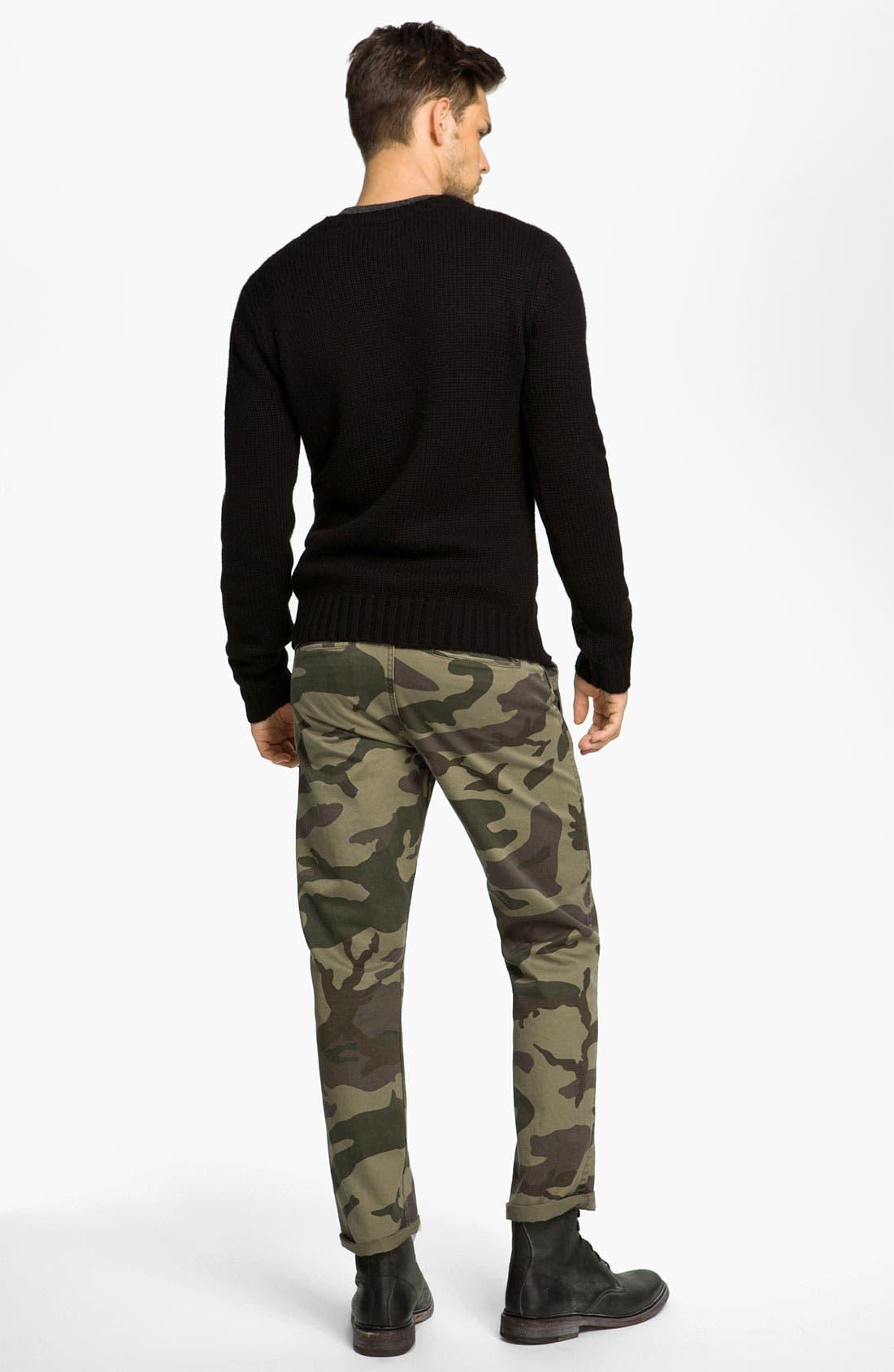 Alternate Image 5  - Dockers® 'Alpha Khaki' Slim Straight Leg Chinos