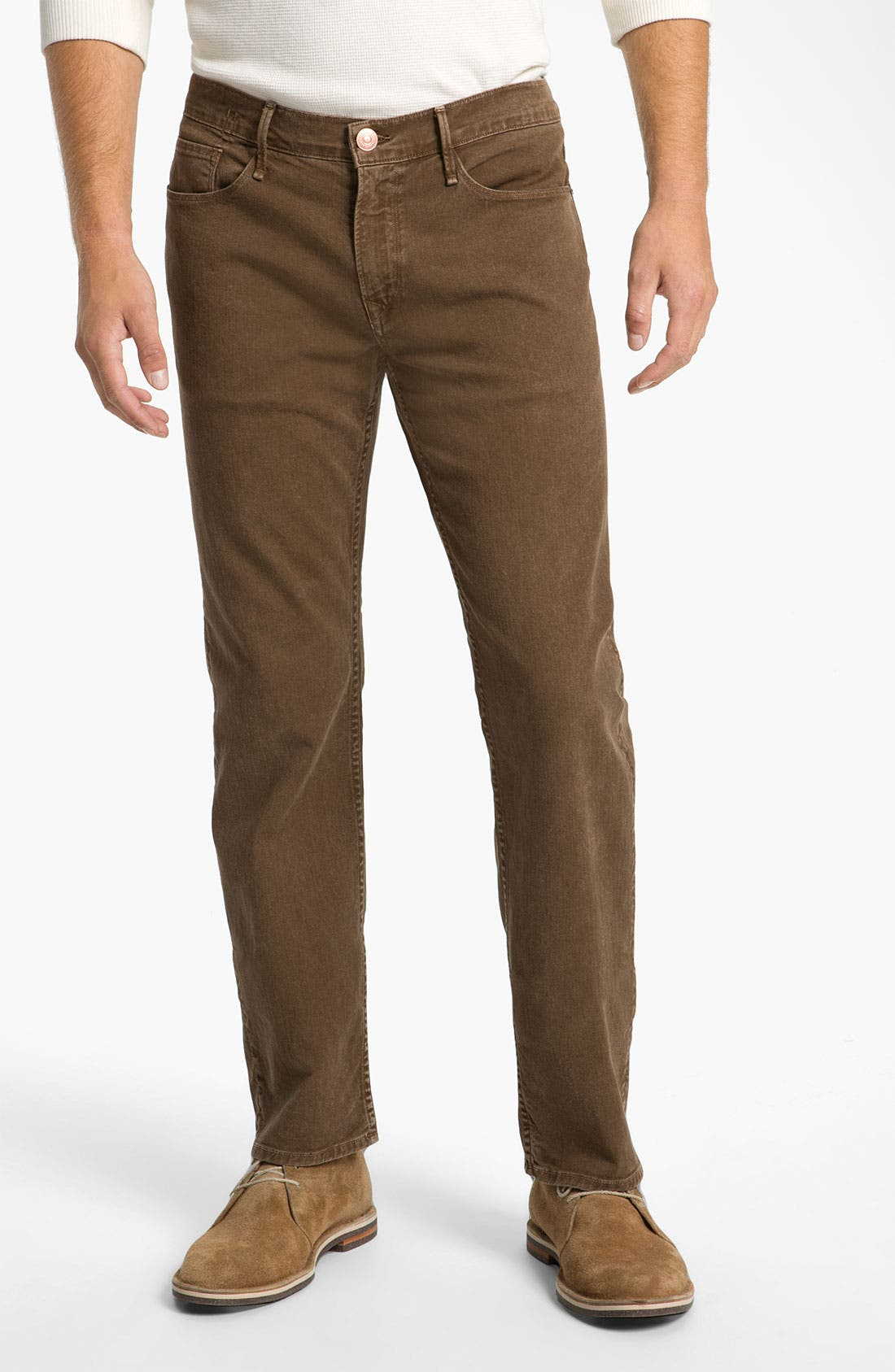 Main Image - Earnest Sewn 'Fulton' Straight Leg Twill Pants