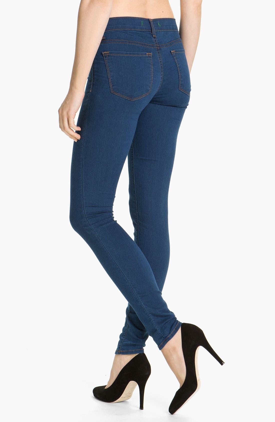 Alternate Image 3  - J Brand 'Legging' Stretch Jeans (Salton)