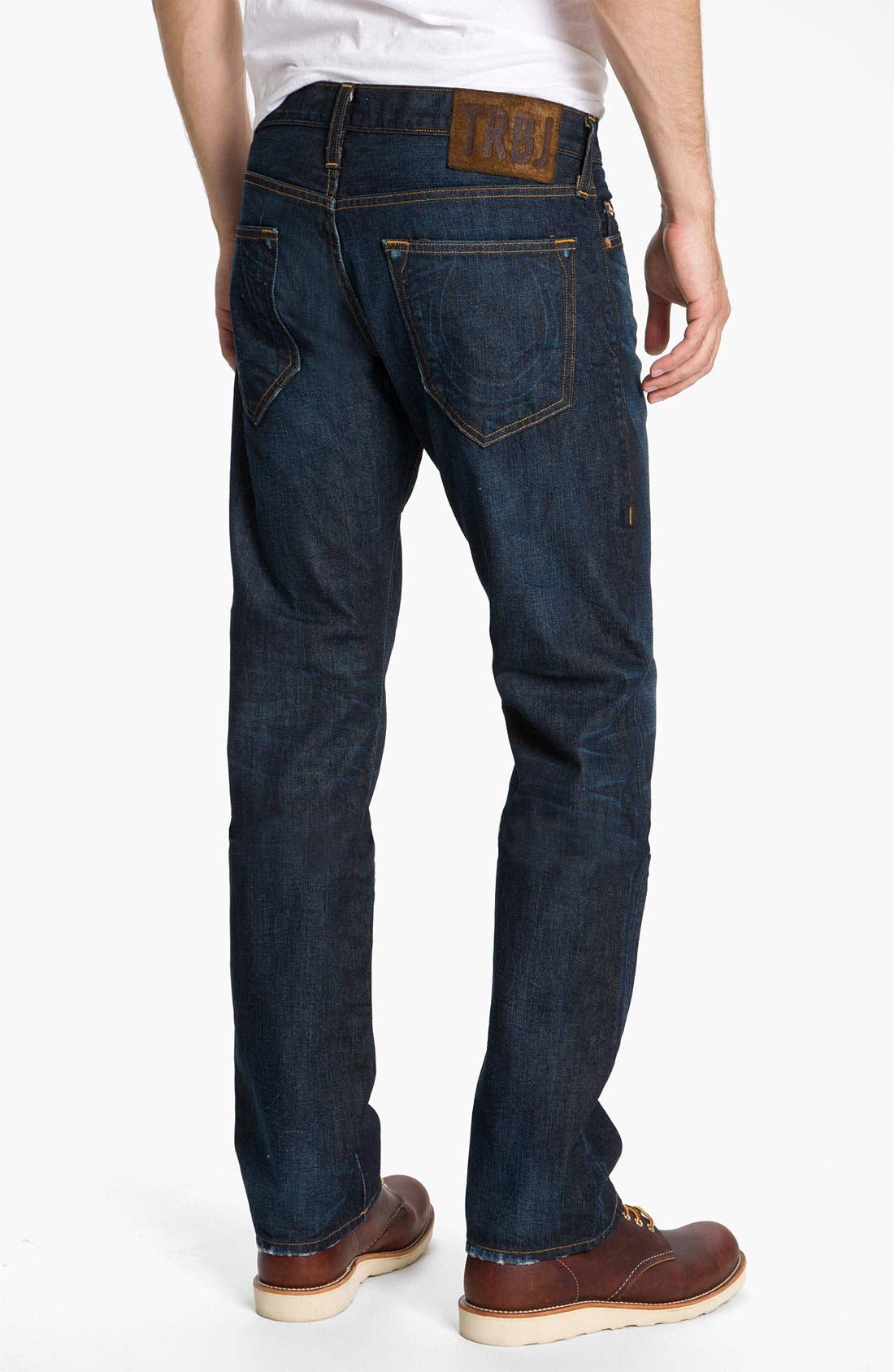 Alternate Image 1 Selected - True Religion Brand Jeans 'Bobby 1971' Straight Leg Jeans (Ransom)