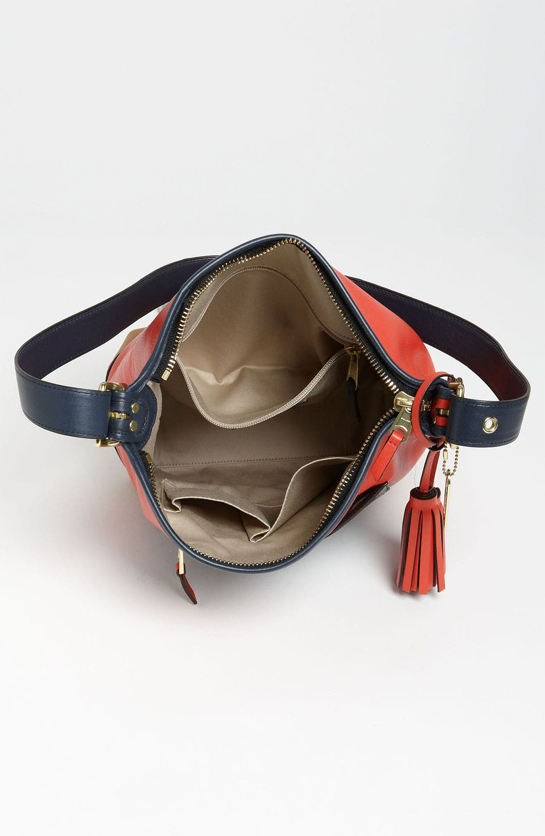 Alternate Image 3  - COACH Colorblock Leather Duffel