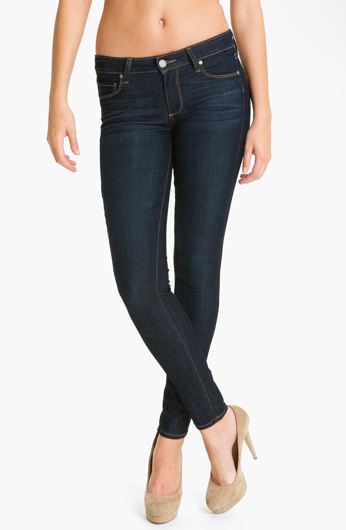 Alternate Image 1 Selected - Paige Denim 'Verdugo' Stretch Skinny Jeans (Stream)