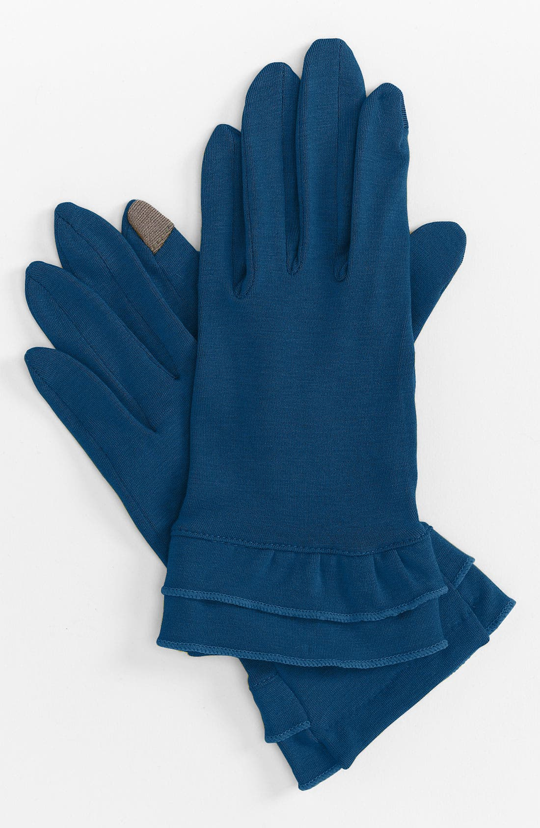 Alternate Image 1 Selected - Echo 'Touch Warmers' Ruffle Gloves
