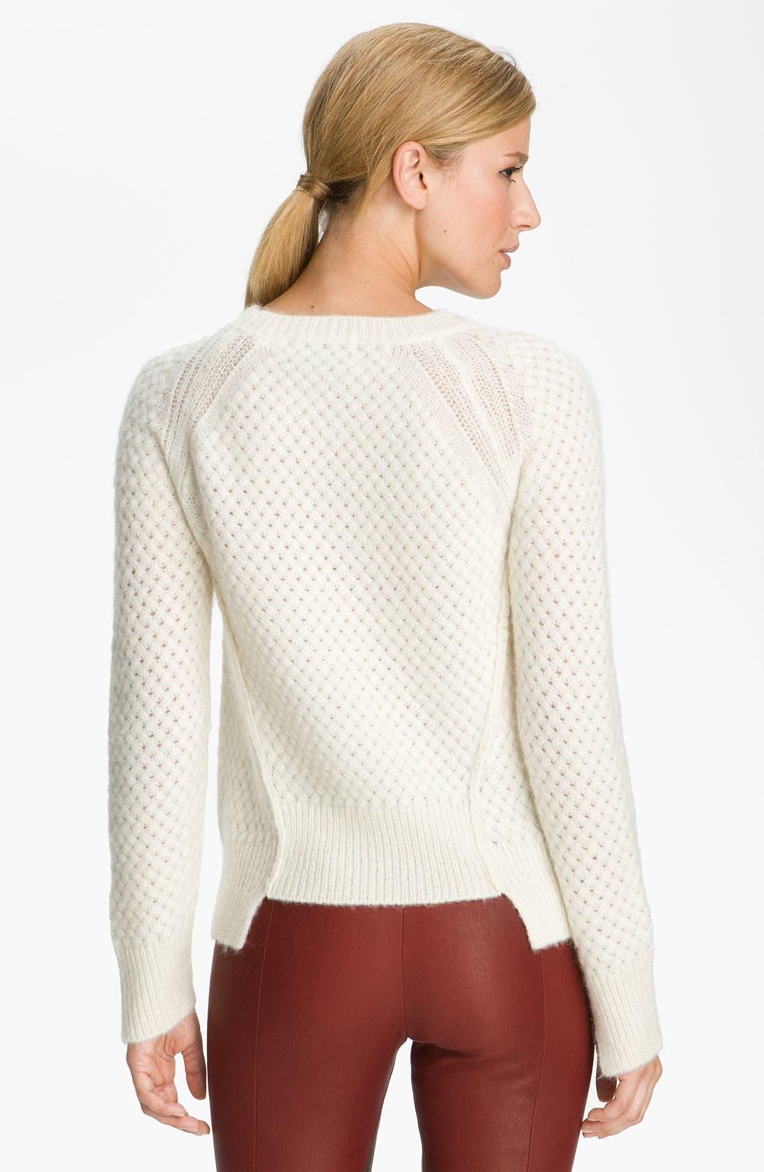 Alternate Image 2  - A.L.C. 'Montgomery Fisherman' Knit Sweater