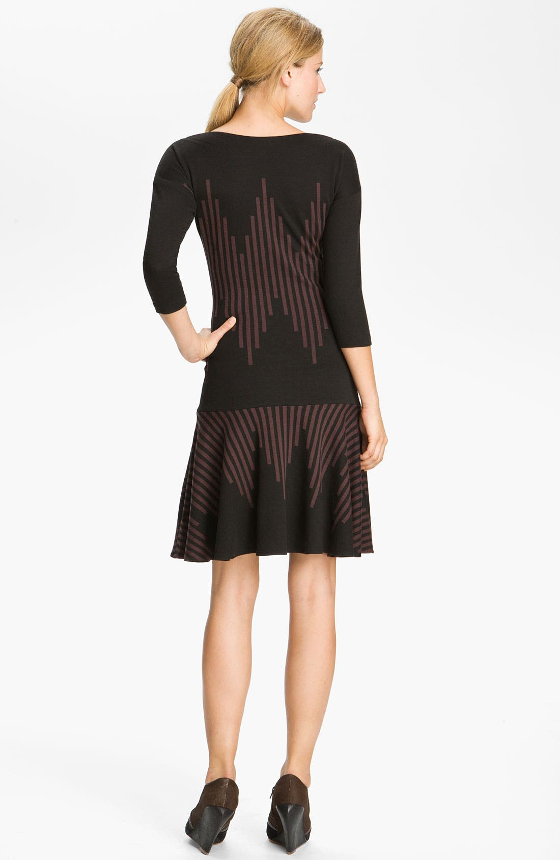 Alternate Image 2  - Tracy Reese Stripe Knit Dress