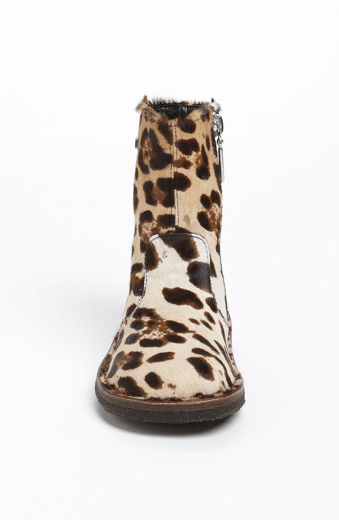 Alternate Image 3  - Dolce&Gabbana Calf Hair Boot (Walker & Toddler)