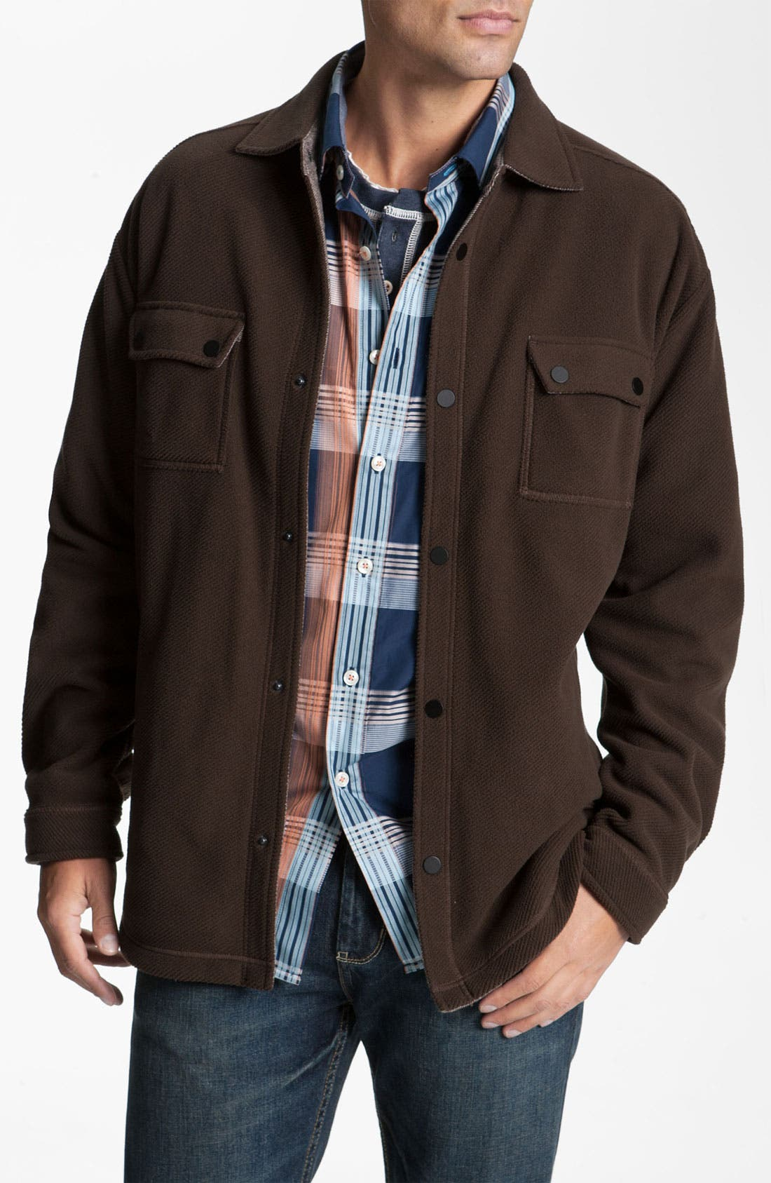 Alternate Image 1 Selected - Tommy Bahama 'Built to Twill' Shirt
