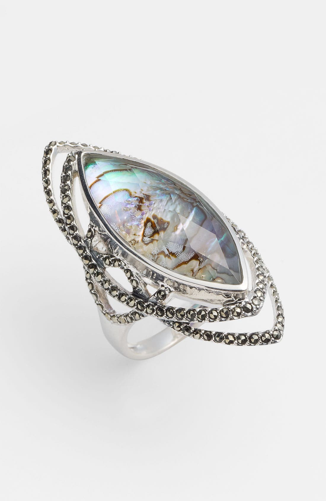Main Image - Judith Jack Abalone Doublet Ring
