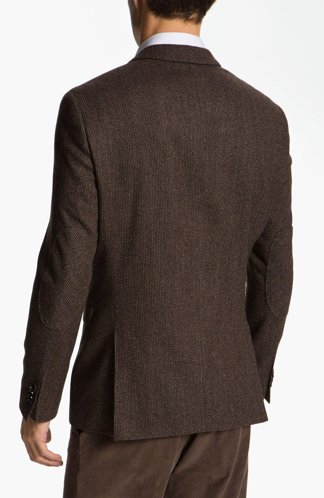 Alternate Image 2  - BOSS Black 'Rhett' Extra Trim Fit Sportcoat