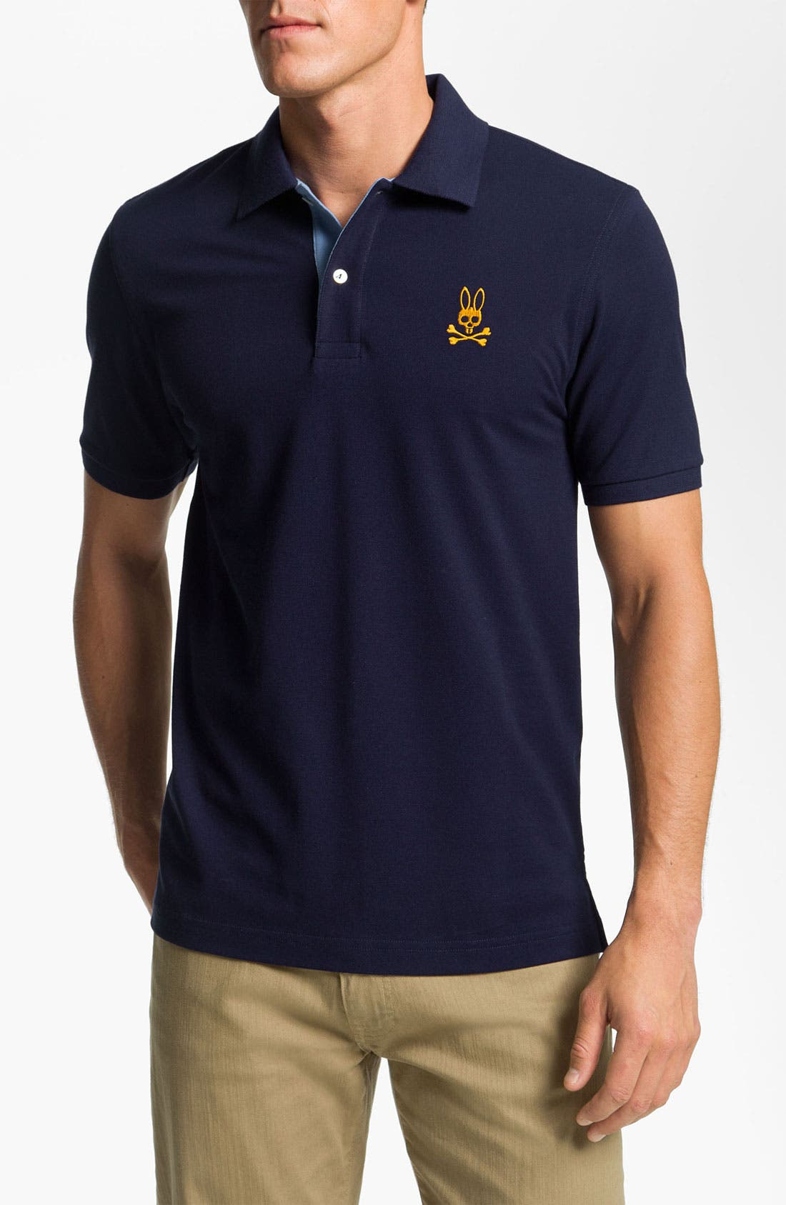 Alternate Image 1 Selected - Psycho Bunny Pima Cotton Polo