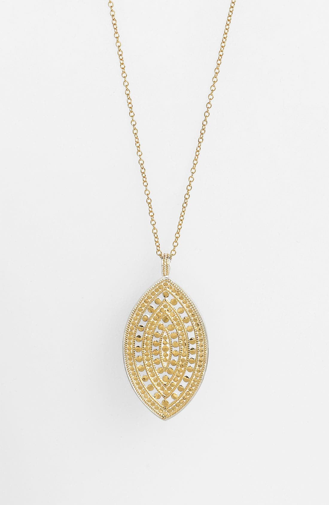 Alternate Image 1 Selected - Anna Beck 'Lombok' Long Leaf Pendant Necklace