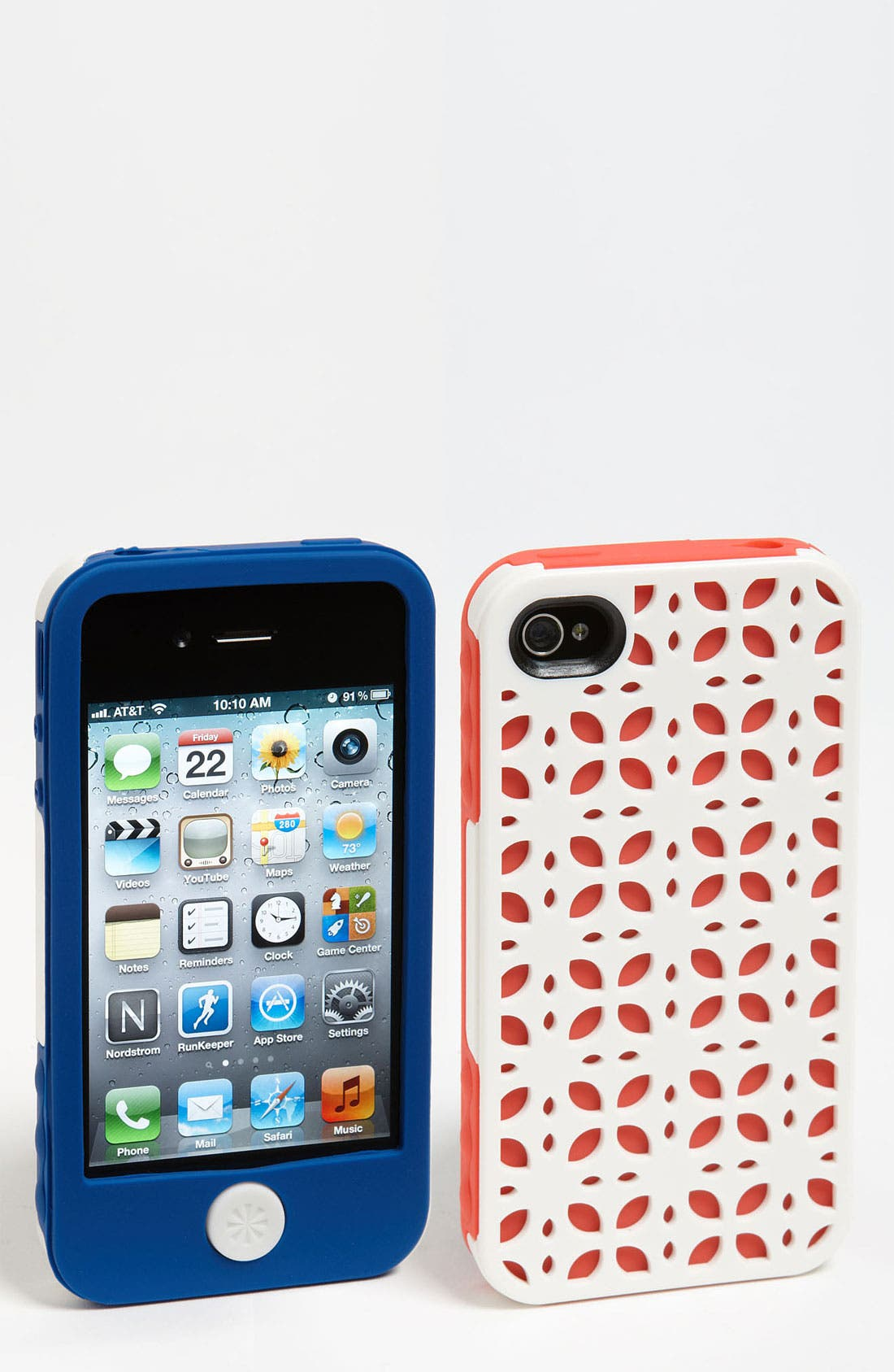 Main Image - Tech Candy 'New York' iPhone 4 Silicone Case