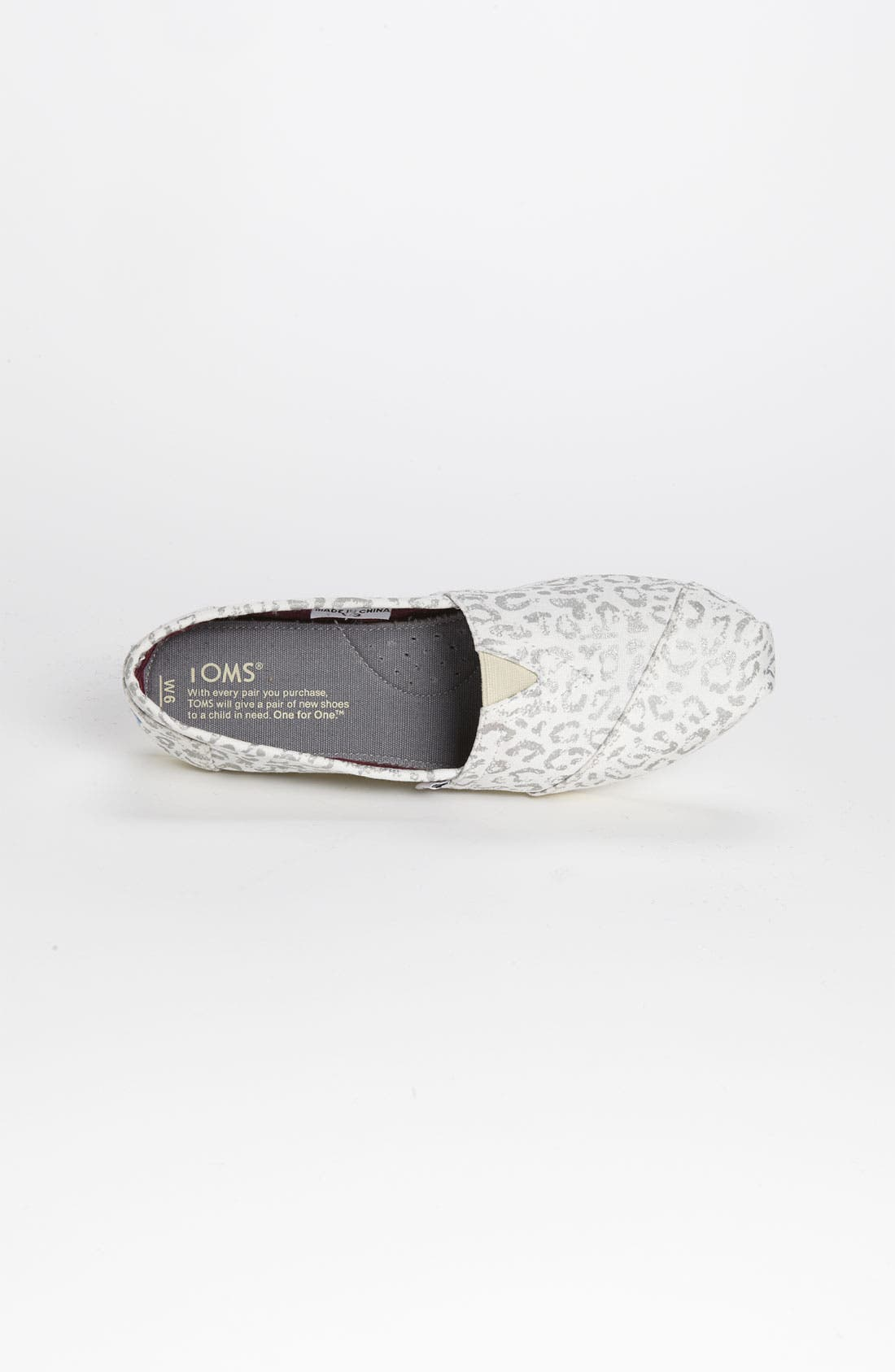 Alternate Image 3  - TOMS 'Classic - Snow Leopard' Slip-On (Women)