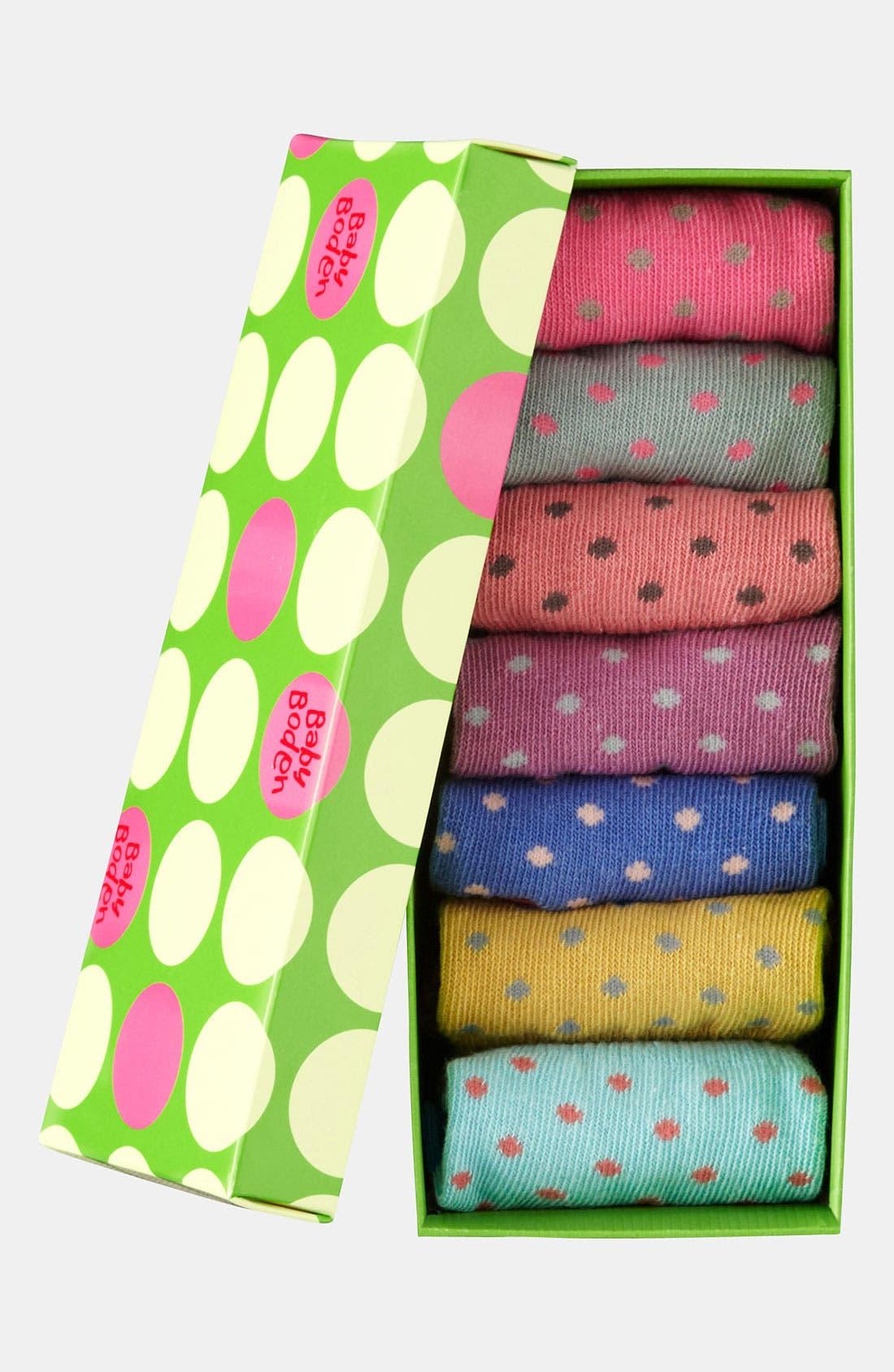 Alternate Image 3  - Mini Boden Socks (7-Pack) (Infant & Toddler)