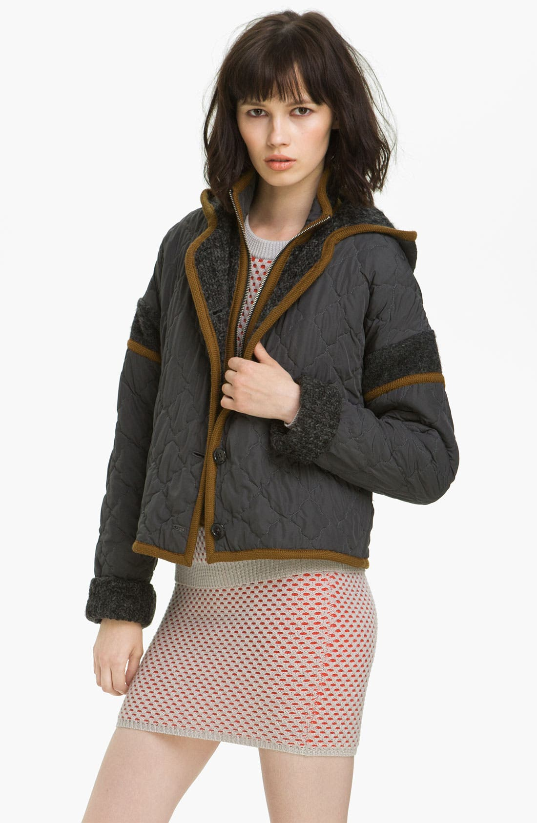 Main Image - Opening Ceremony Reversible Vest & Quilted Jacket