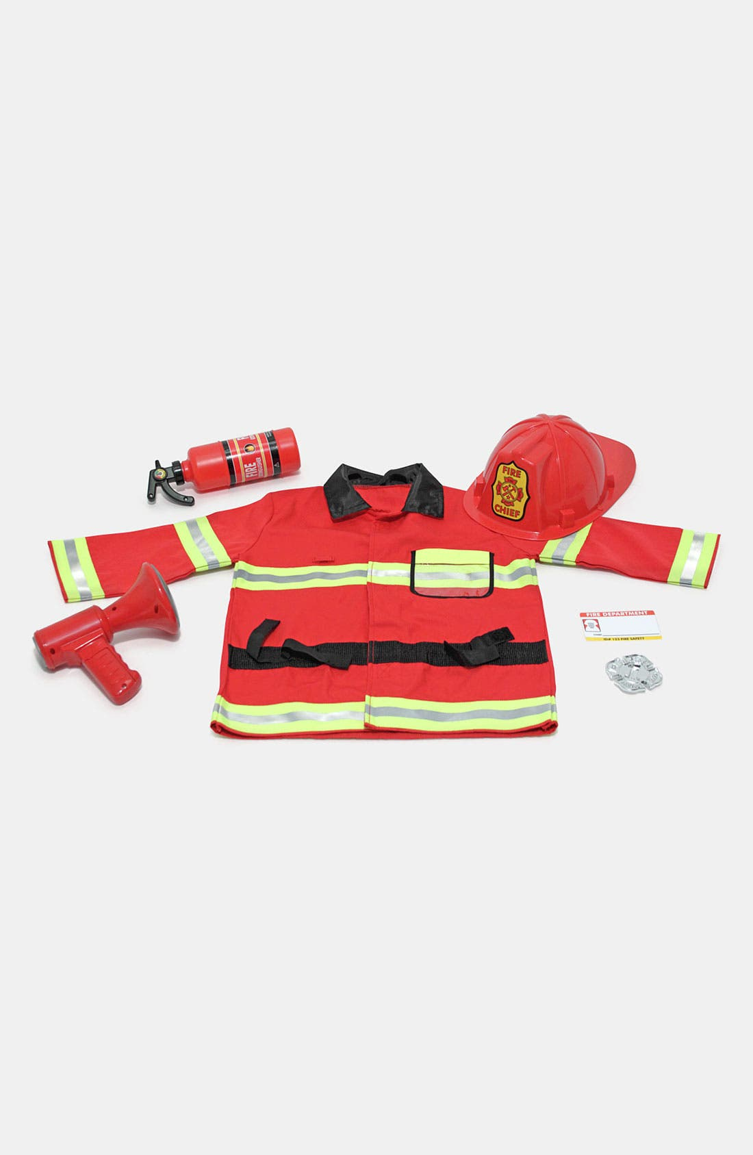 Alternate Image 2  - Melissa & Doug 'Fire Chief' Costume (Toddler)