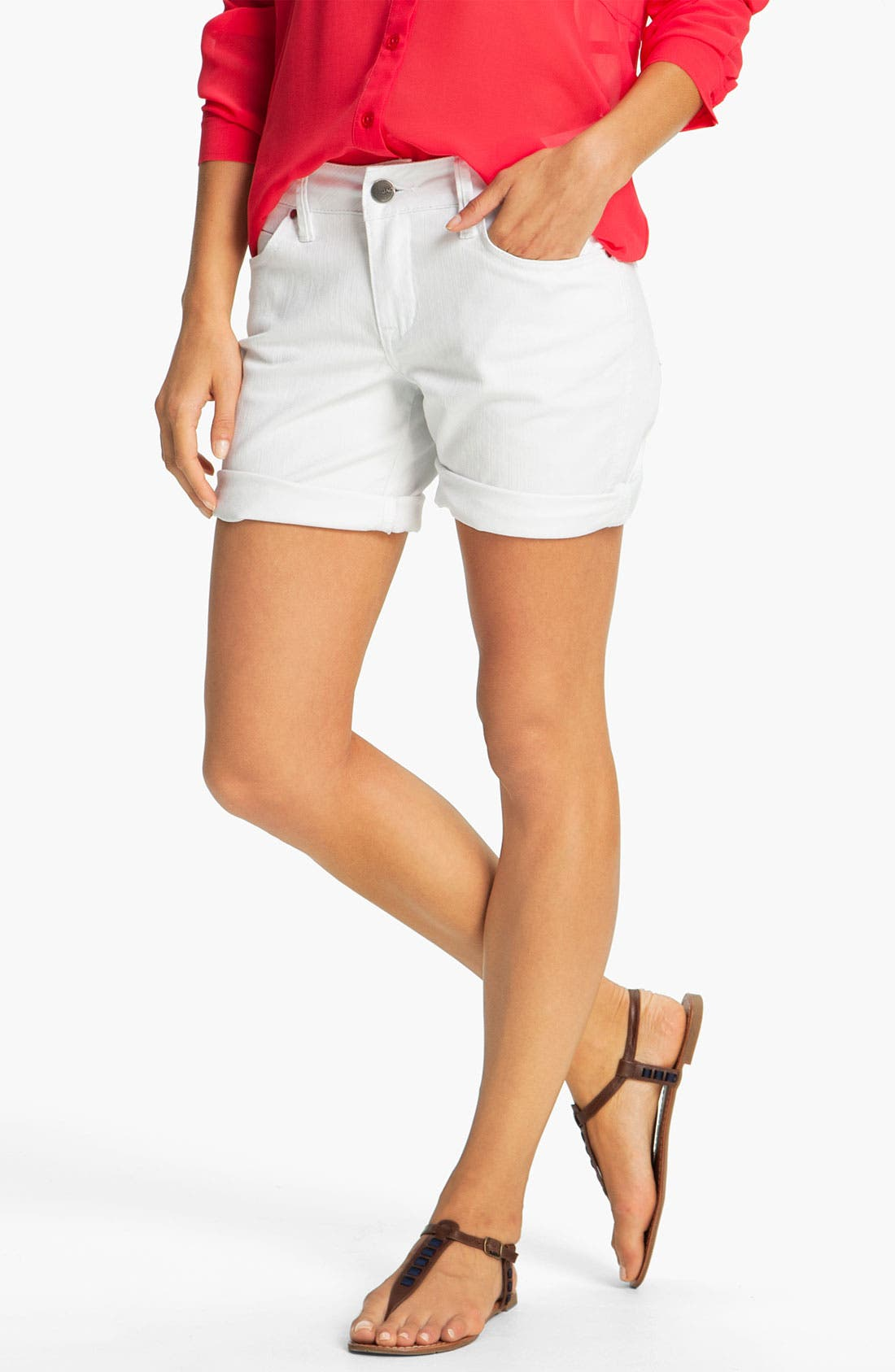 Alternate Image 1 Selected - Jag Jeans 'Sunny' Twill Shorts