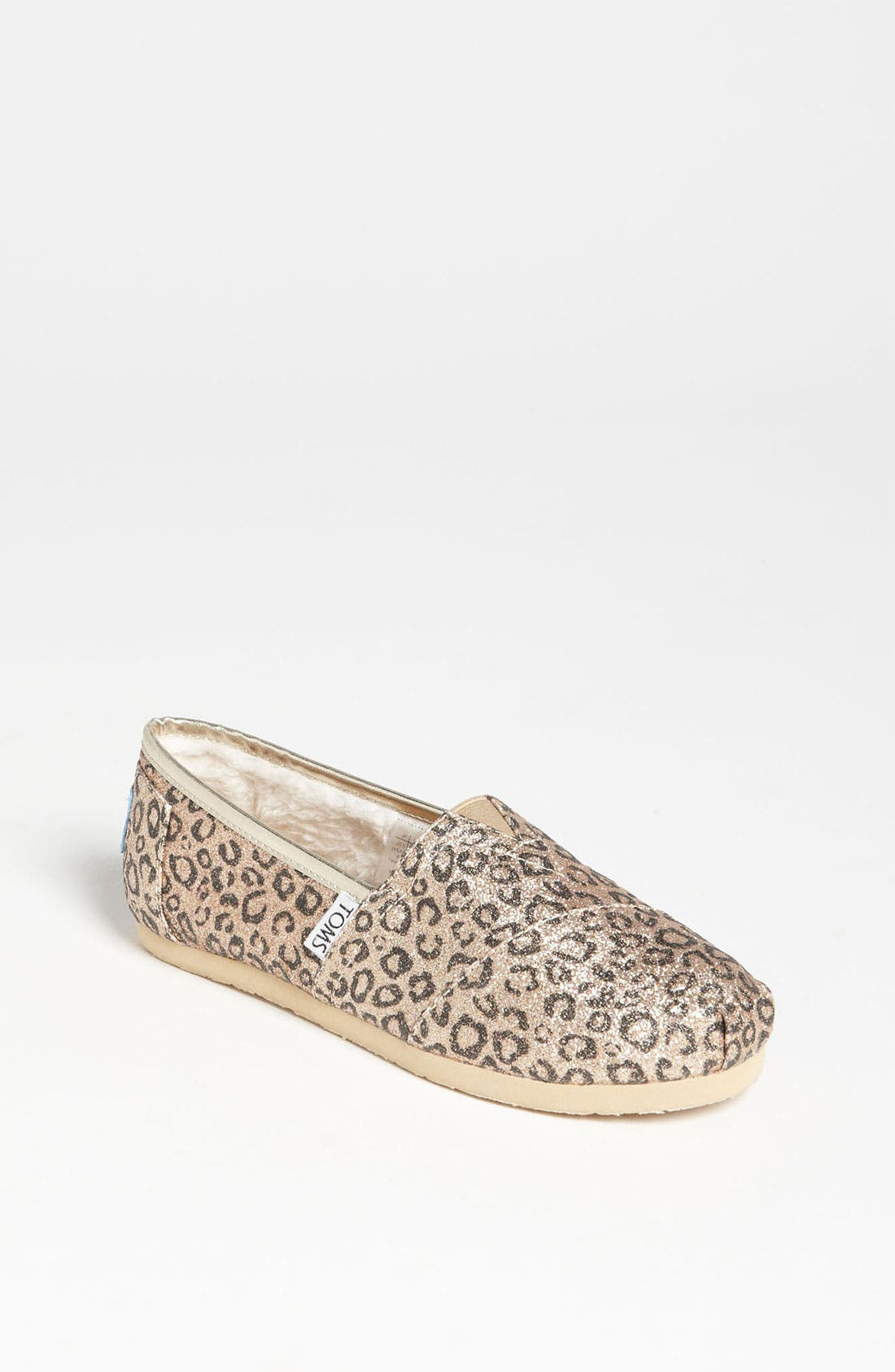 Alternate Image 1 Selected - TOMS 'Classic Youth - Glitter' Print Slip-On (Toddler, Little Kid & Big Kid) (Nordstrom Exclusive)